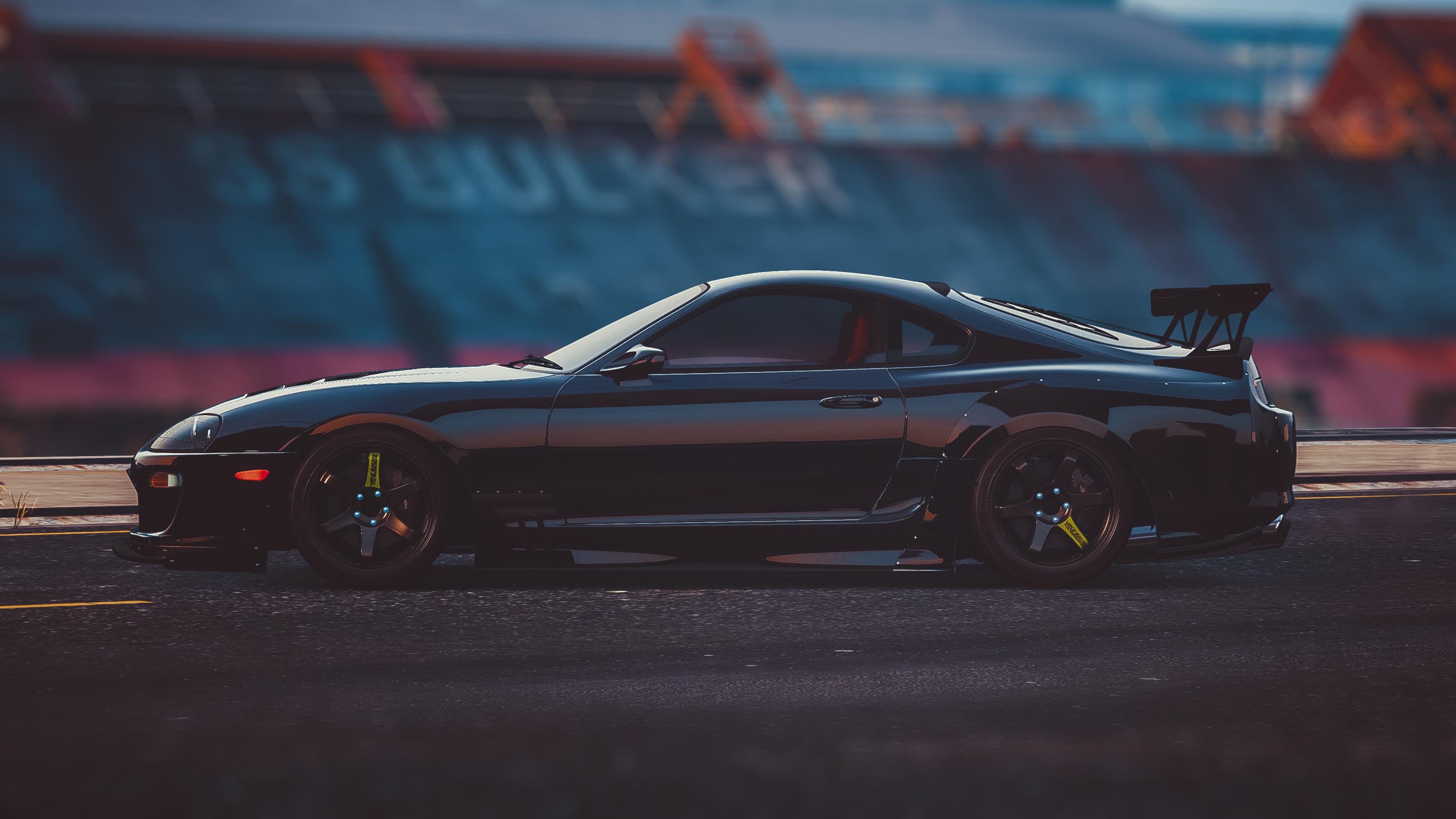 Wallpaper Toyota Supra Jdm 2jz Grand Theft Auto V Car