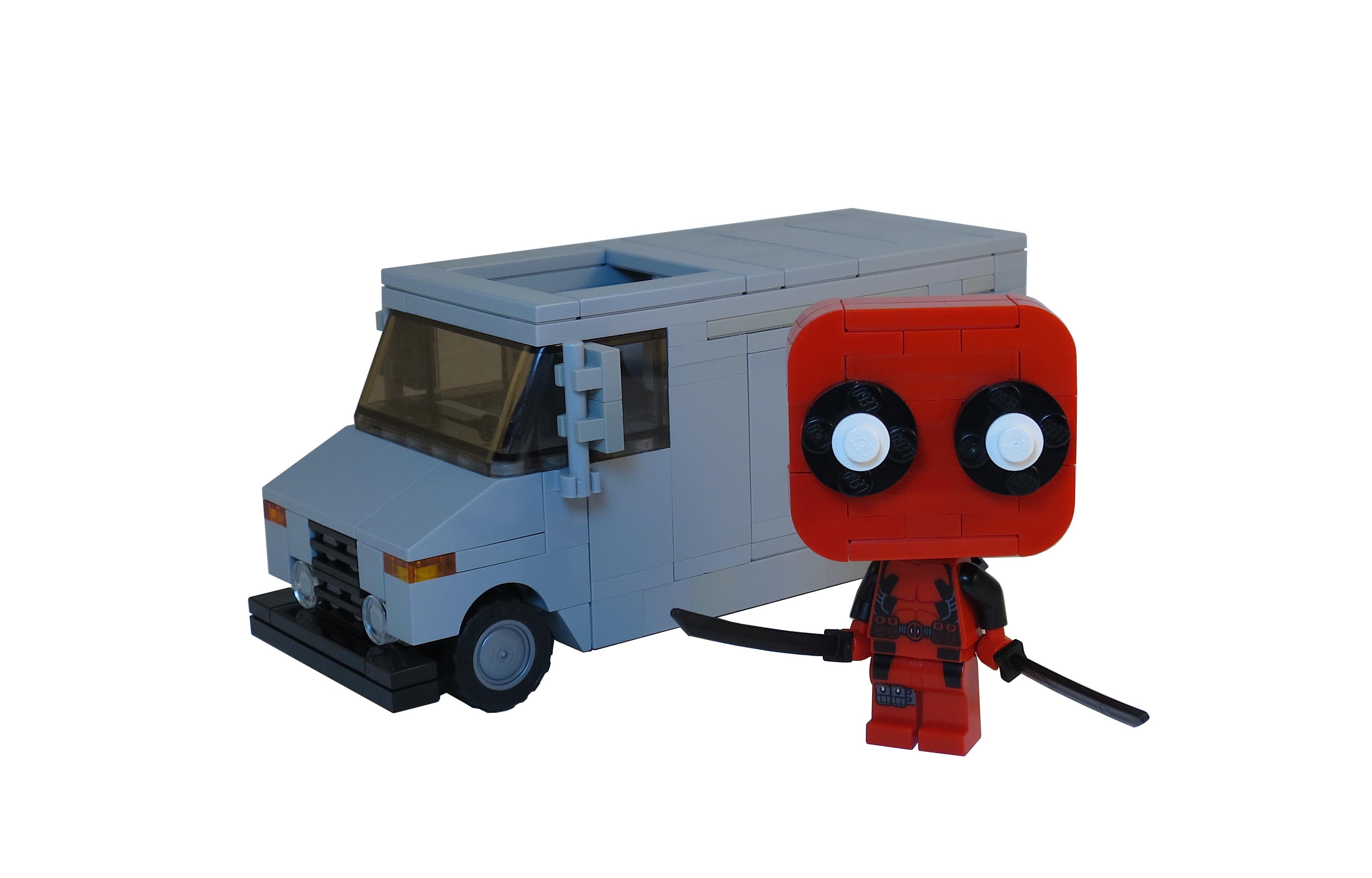 Wallpaper Truck Lego Marvel Funko Moc Deadpool Chimichangas 3158x2020 948866 Hd Wallpapers Wallhere