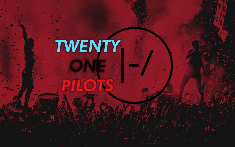 Wallpaper Twenty One Pilots Red Blurryface 1440x900