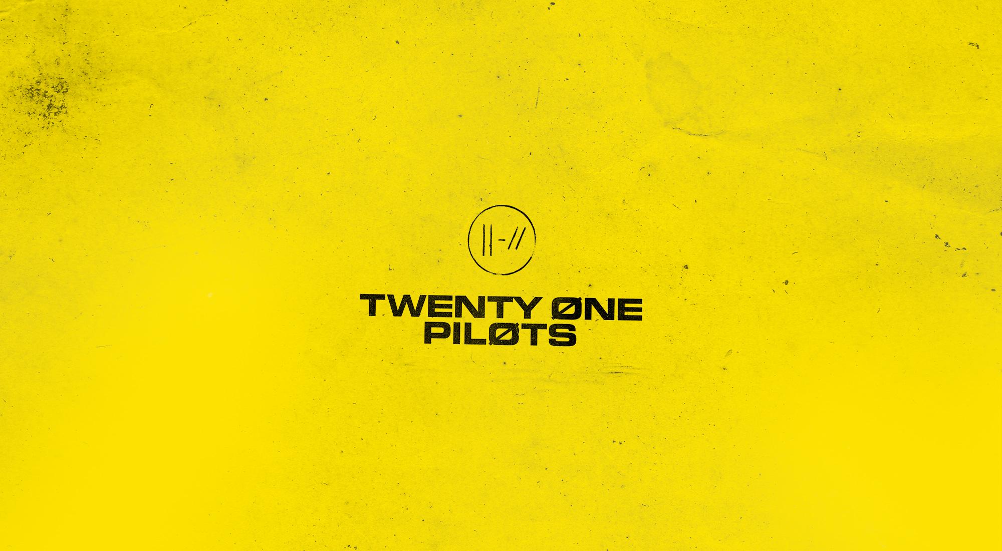 Twenty One Pilots yellow trench minimalism simple background yellow background 1474623