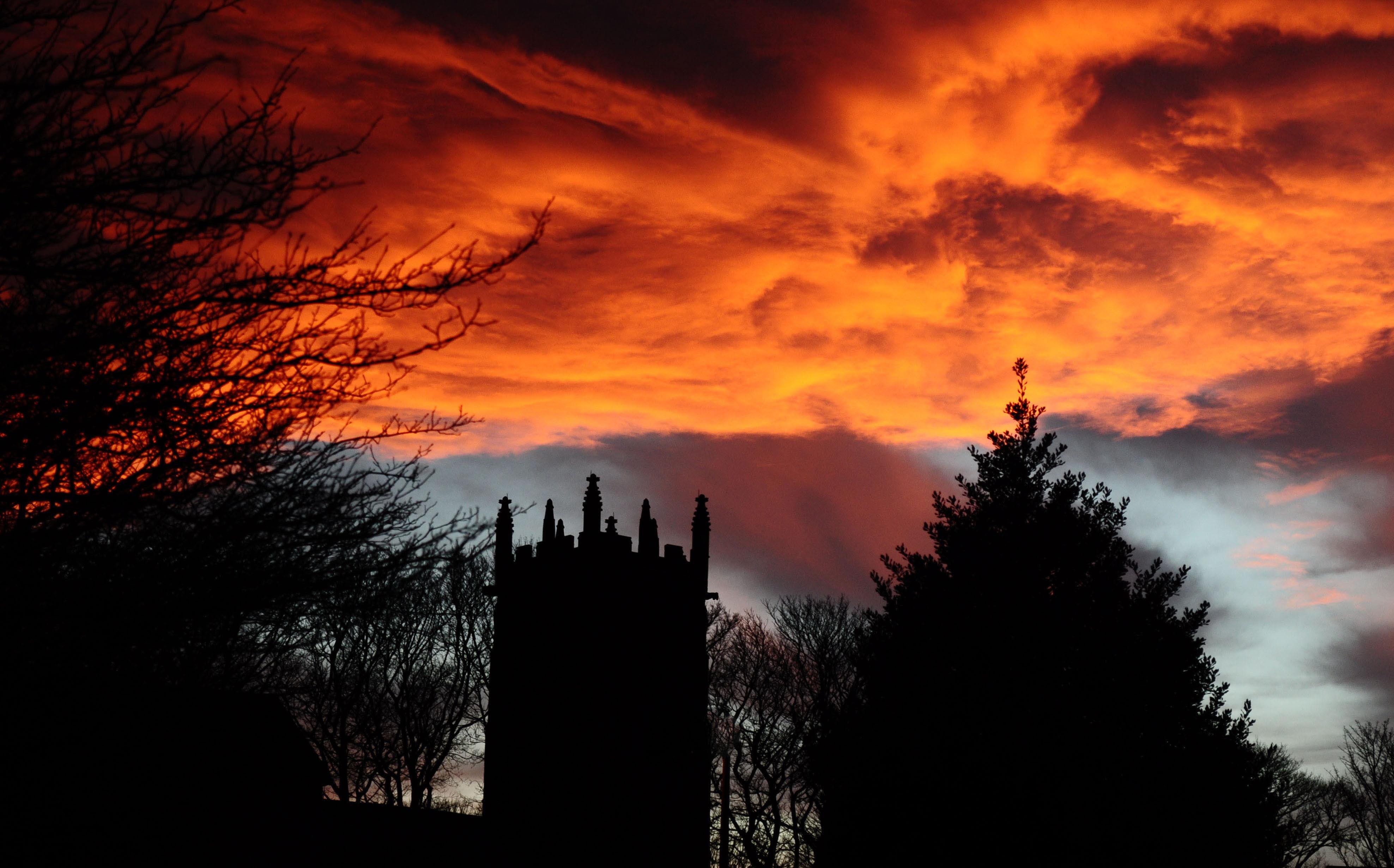 Hintergrundbilder : Vereinigtes Königreich, Winter, Sonnenuntergang ...