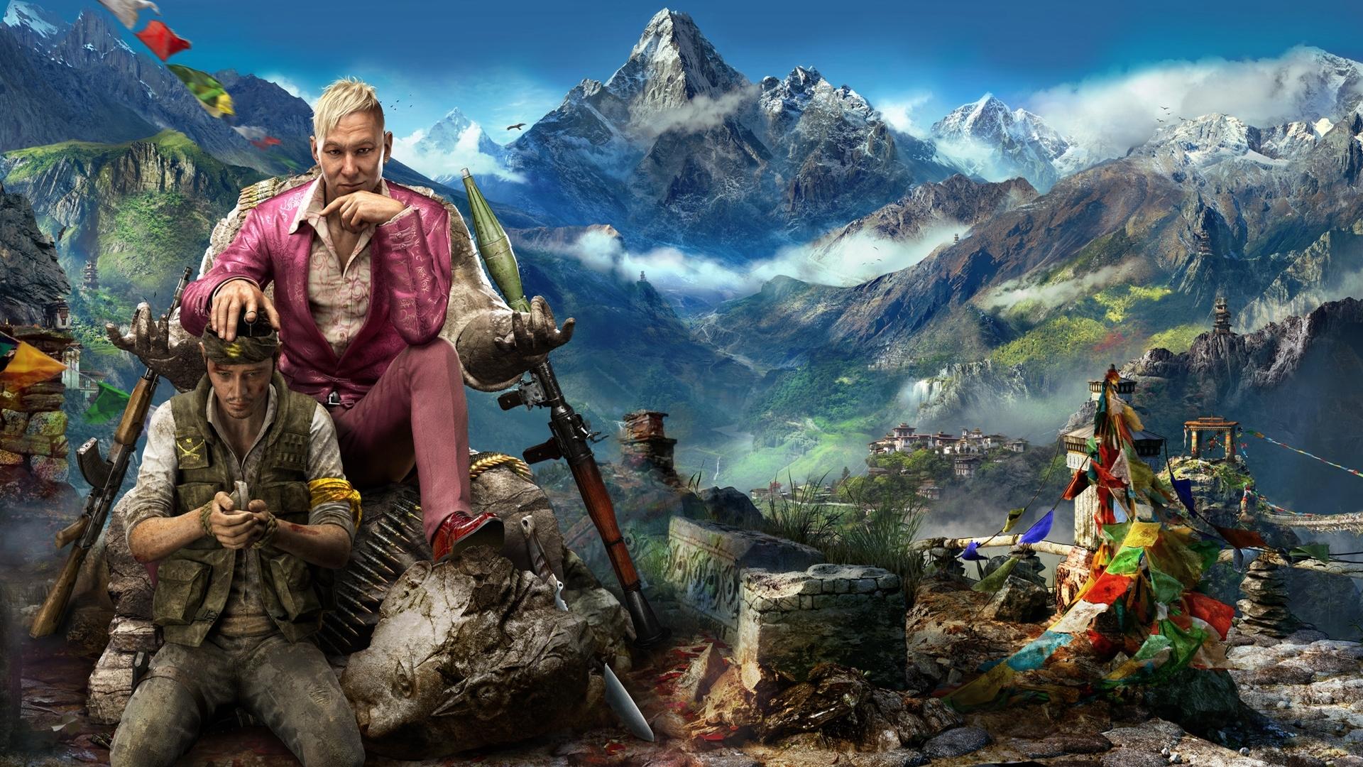 Fondos De Pantalla Ubisoft Far Cry 4 Pagan Min Captura