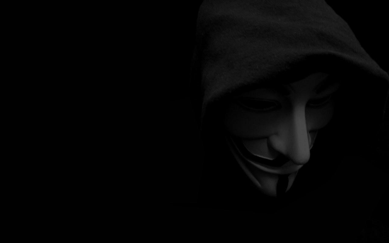 Wallpaper V For Vendetta Anonymous Mask Dark Monochrome
