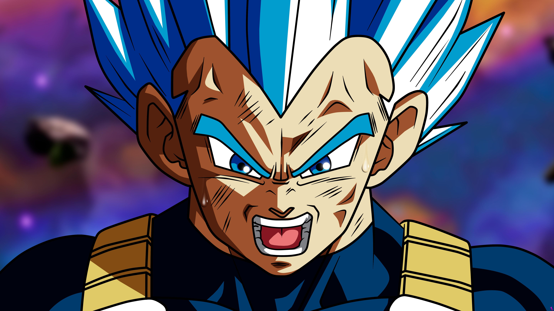 Wallpaper Vegeta Dragon Ball Super Saiyan Blue Super Saiyan