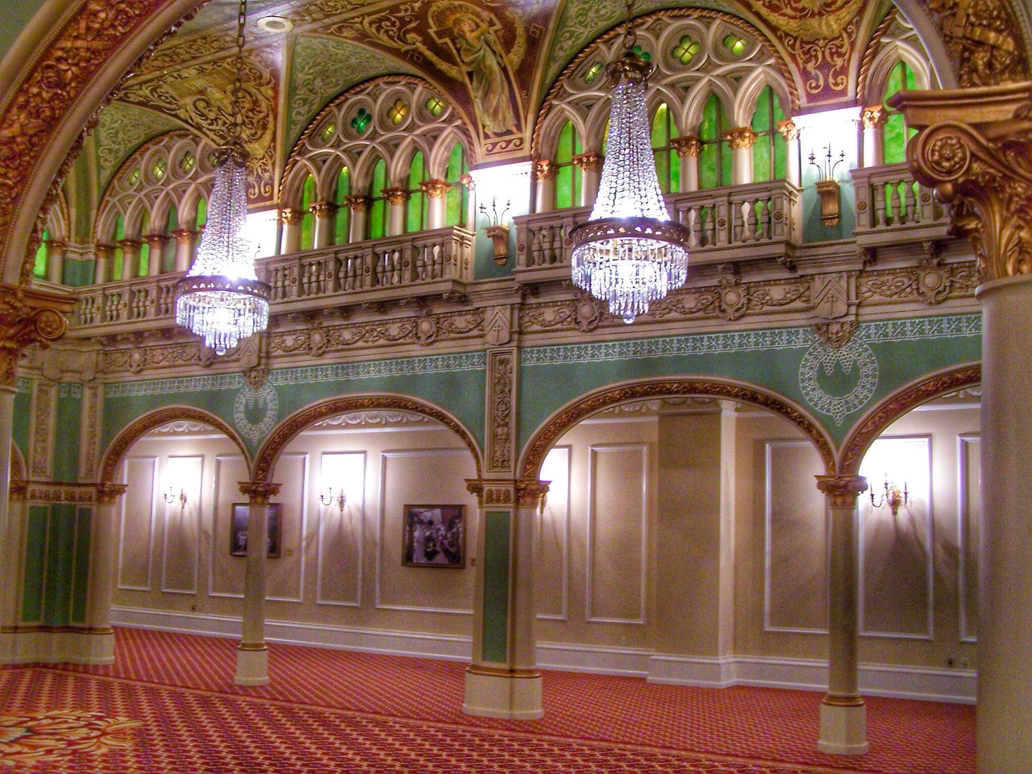 Venice Italy architecture hotel washington spokane state Gothic style grand palace historic ballroom historical venetian restoration