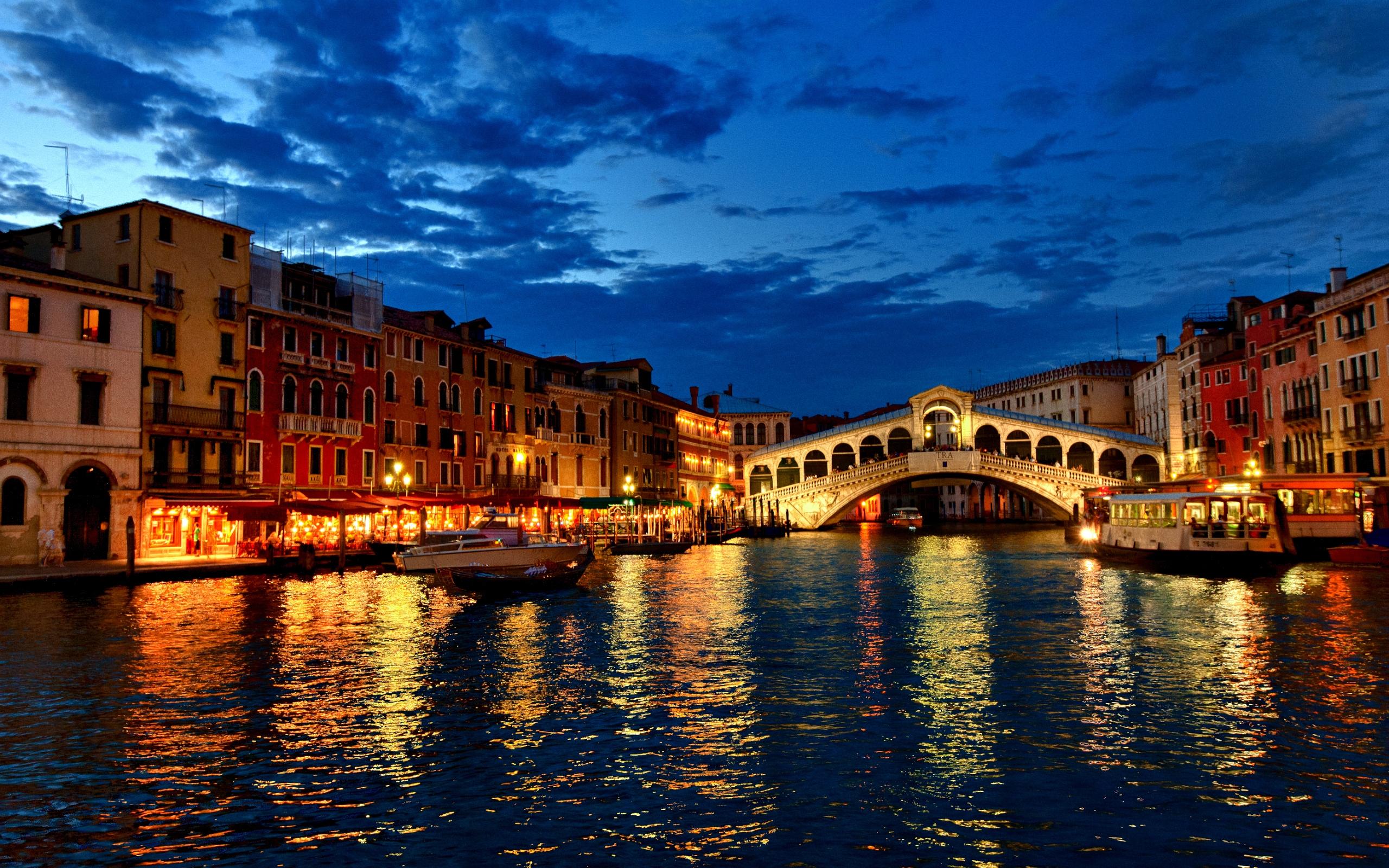 Обои венеция, italy, гондолы, здания, лодки, канал, venice. Города foto 10
