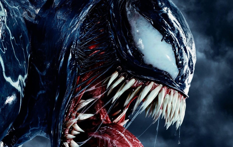 Wallpaper Venom Marvel Comics Symbiote Teeth 1448x912