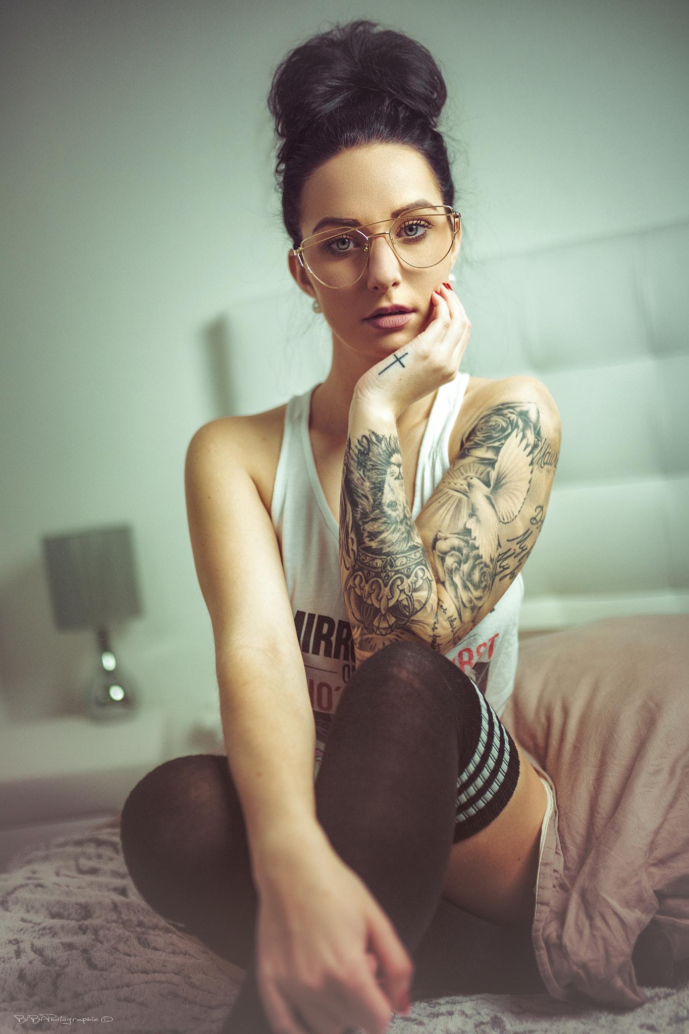 Tattoo Model Frau