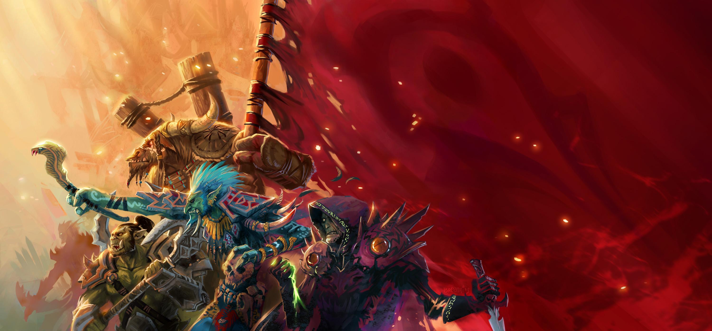 Wallpaper Warcraft Horde Video Games 3000x1400 Kuroibankai