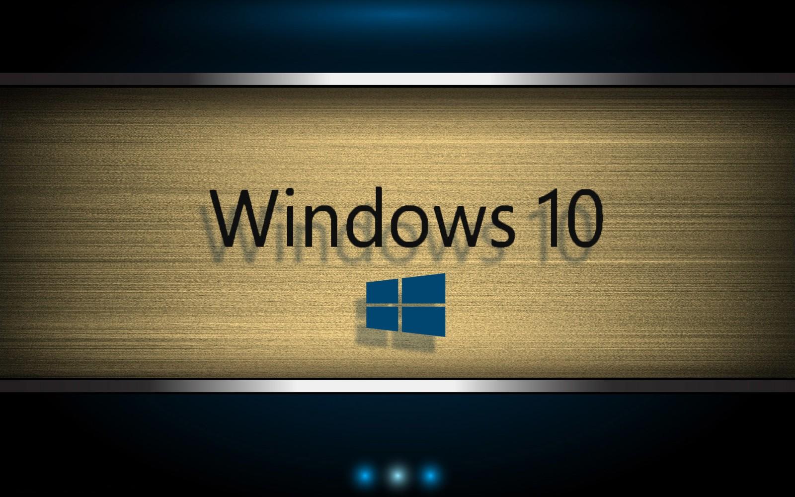 Windows 10 Original Wallpaper: Papel De Parede : Windows 10, Microsoft Windows, Pc Bsd