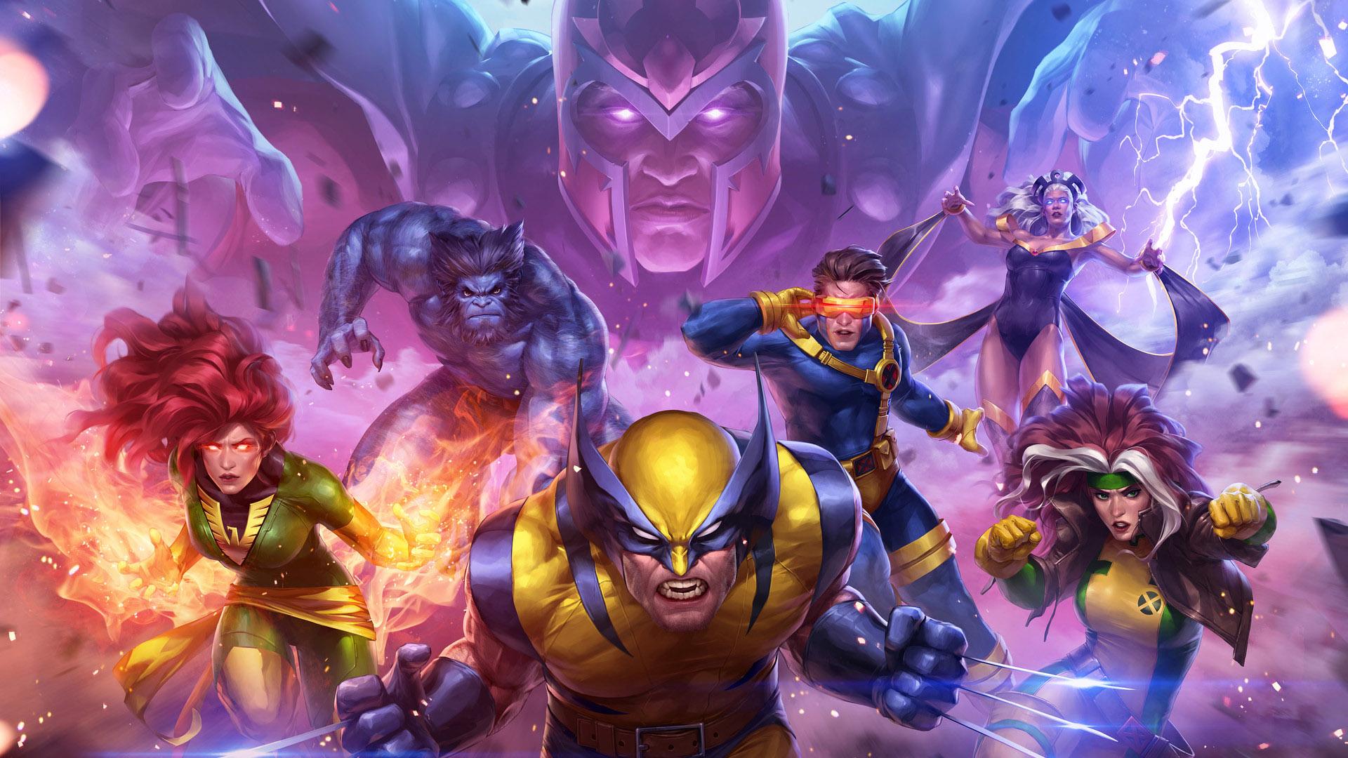 Wolverine Cyclops Beast Henry McCoy Ororo Monroe Magneto Jean Grey Rogue
