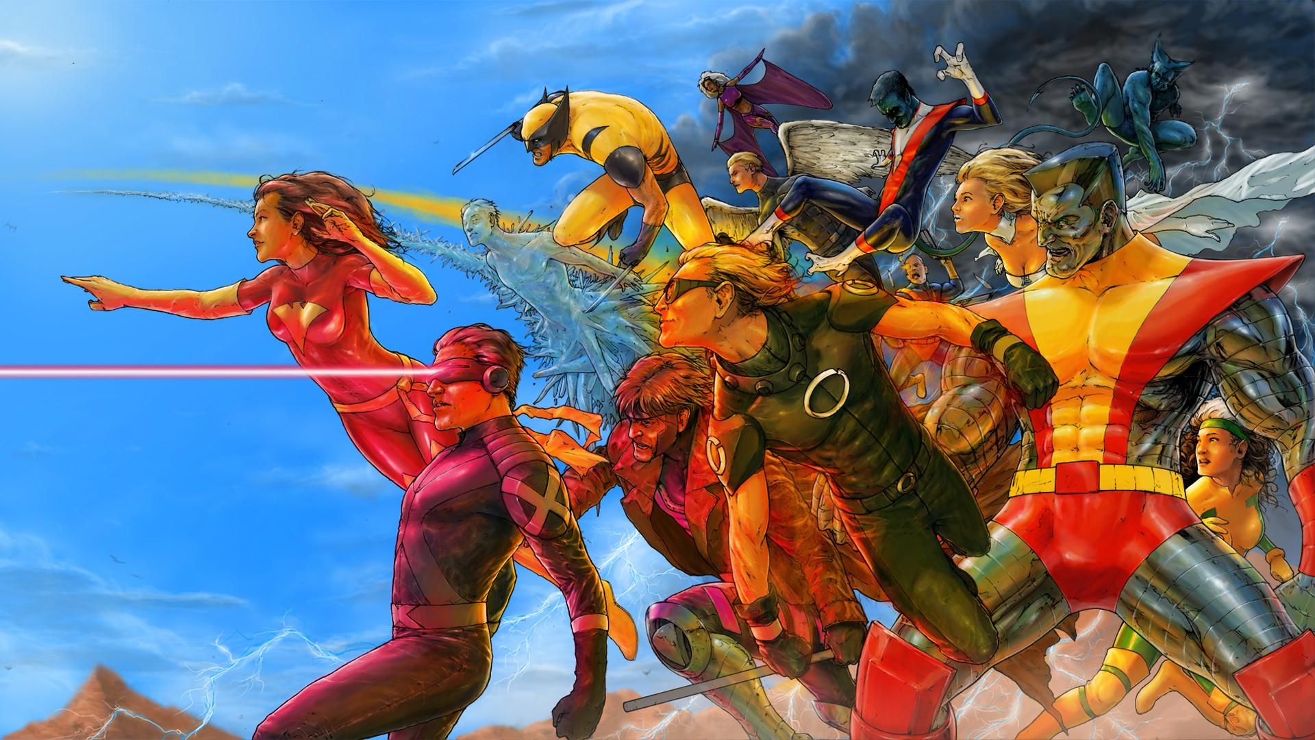Must see Wallpaper Marvel Archangel - Wolverine-hero-X-Men-comics-Cable-Rogue-archangel-mythology-Jean-Grey-Cyclops-Gambit-Iceman-White-Queen-colossus-Nightcrawler-Quicksilver-Beast-Henry-McCoy-Storm-character-screenshot-30630  Graphic_93861.jpg