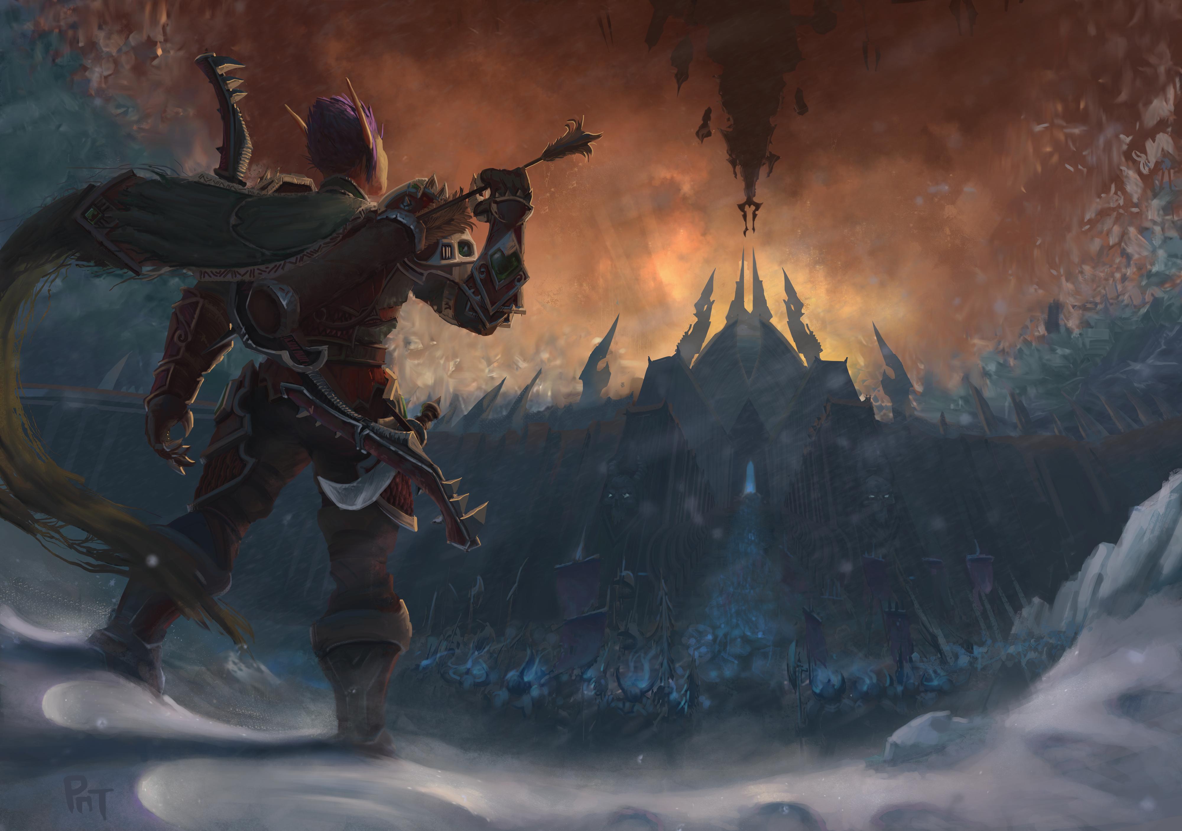 world of warcraft shadowlands wallpaper 2560x1440
