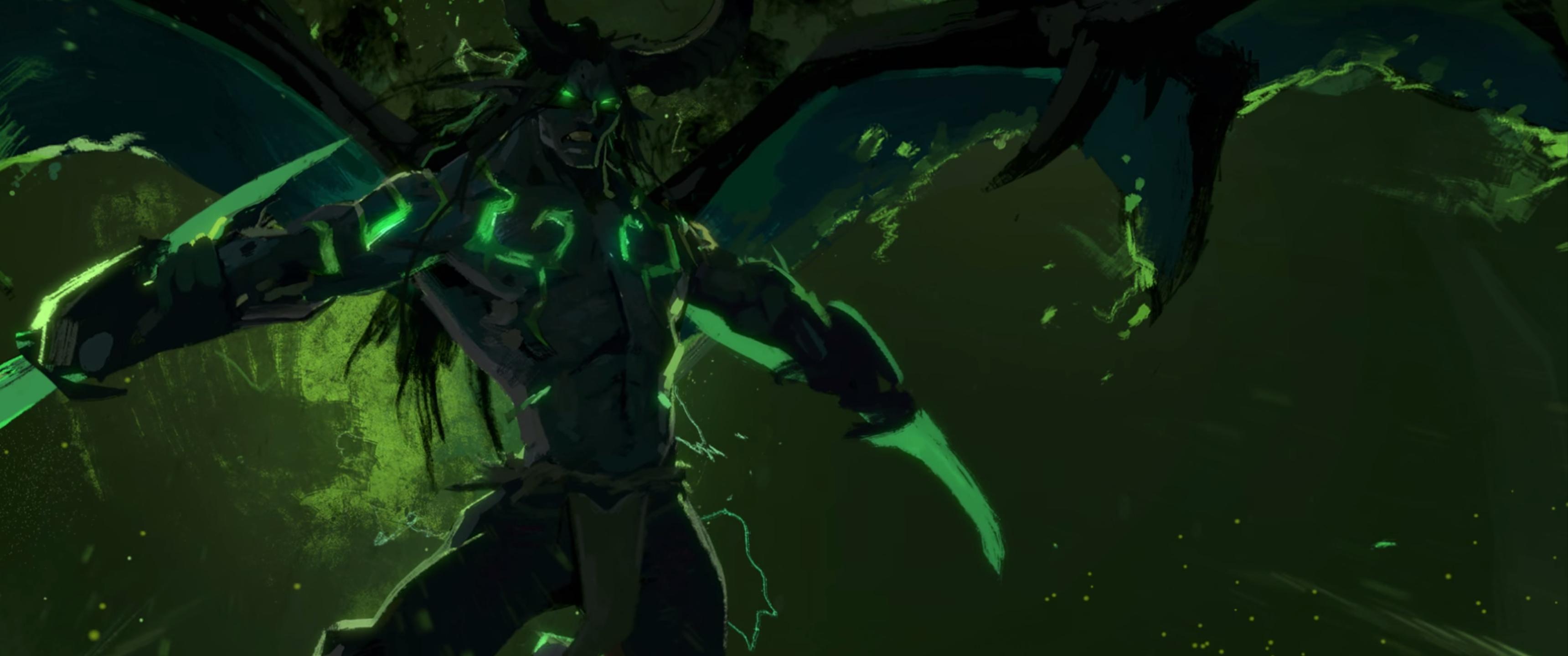 Wallpaper World Of Warcraft Green Blizzard Entertainment
