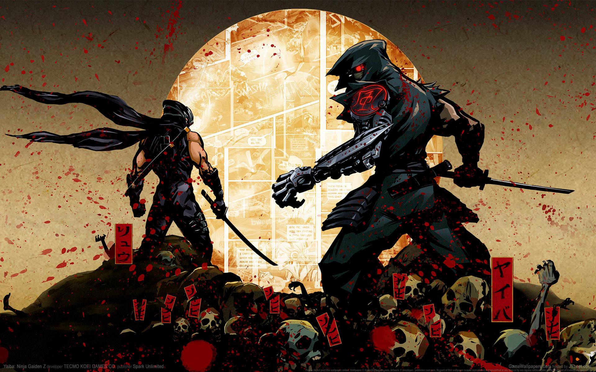 ninja gaiden 4k wallpaper