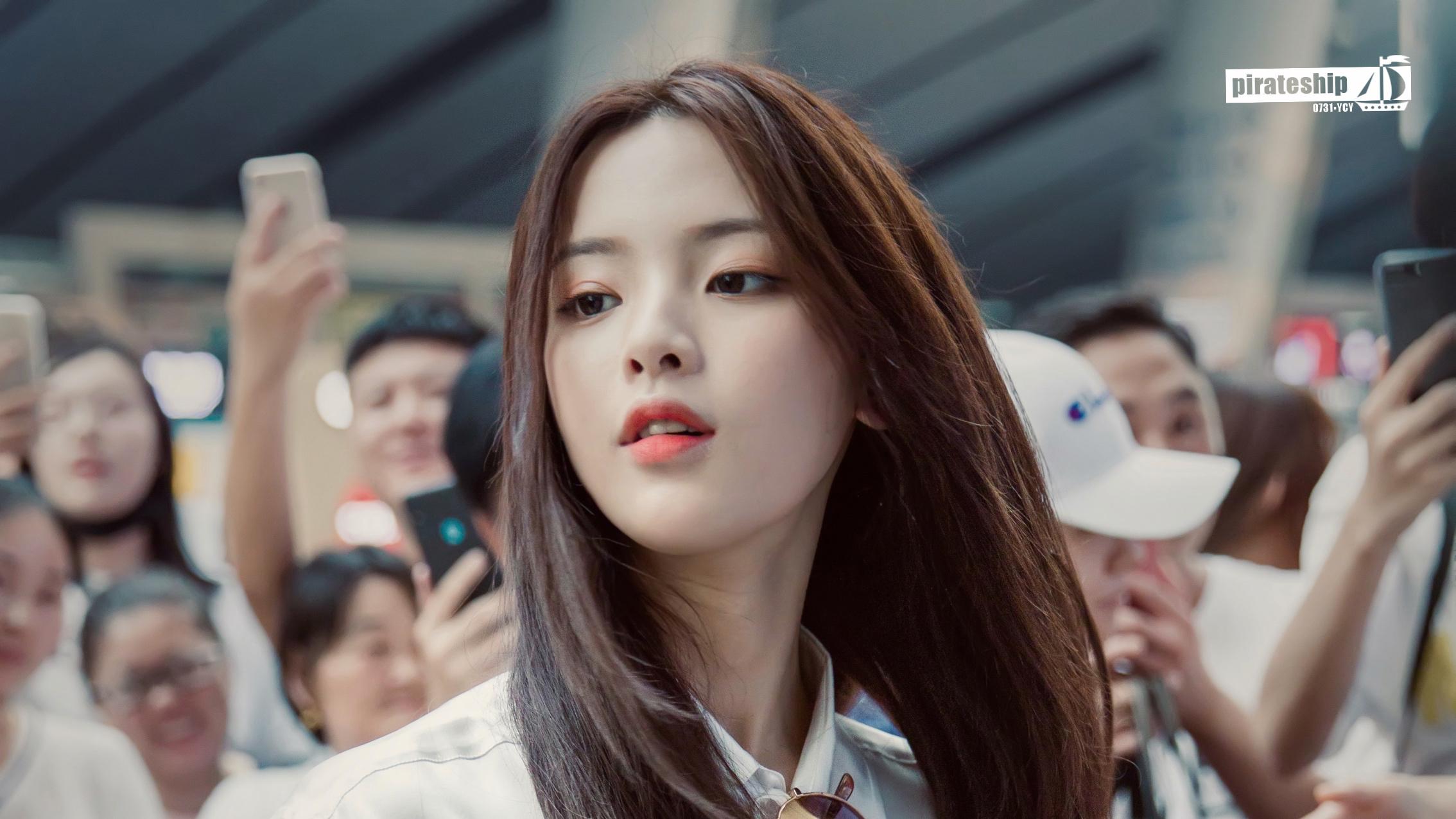 デスクトップ壁紙 Yang Chaoyue 中国語 アジア人 アイドル 面