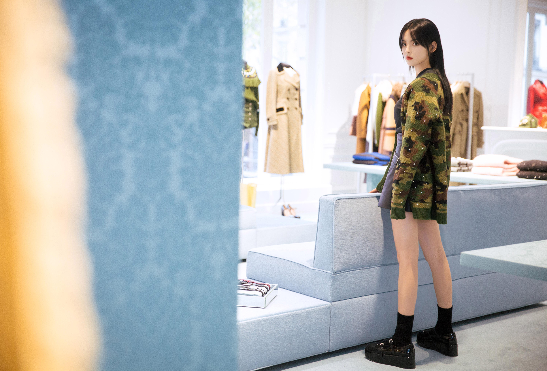 デスクトップ壁紙 Yang Chaoyue 中国語 アジア人 女性 アイドル