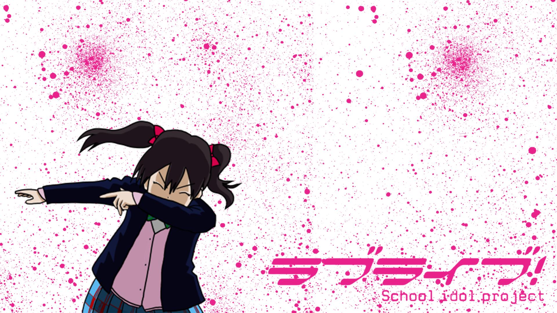 Wallpaper Yazawa Nico Love Live Anime Manga 1920x1080