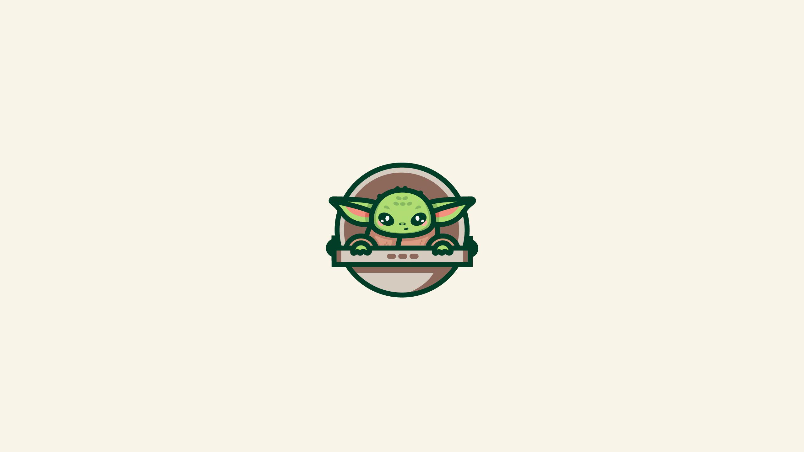 Wallpaper Baby Yoda Star Wars Illustration Digital 2560x1440 Kg7x 1744645 Hd Wallpapers Wallhere