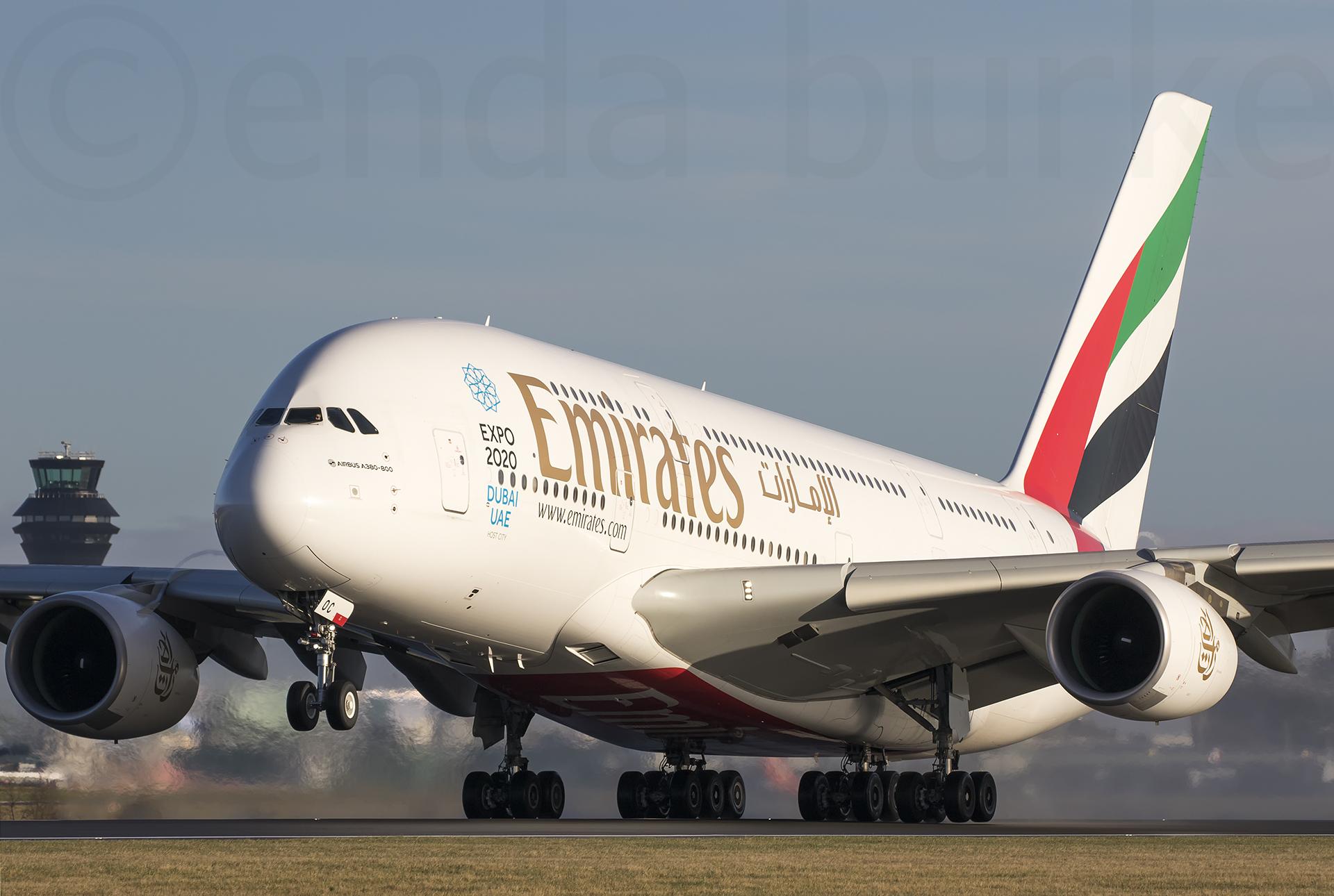 A6eoc Avgeek Av8 Aviationviewingpark Avp Airbus A380 Airbusa380 Egcc