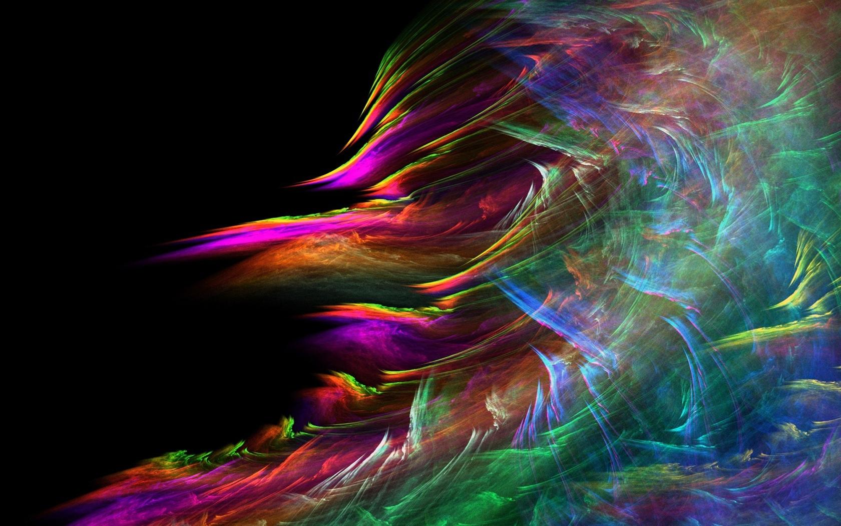 Fond d'écran : abstrait, bleu, fumée, rouge 1680x1050 - wallhaven - 1107868 - Fond d'écran ...