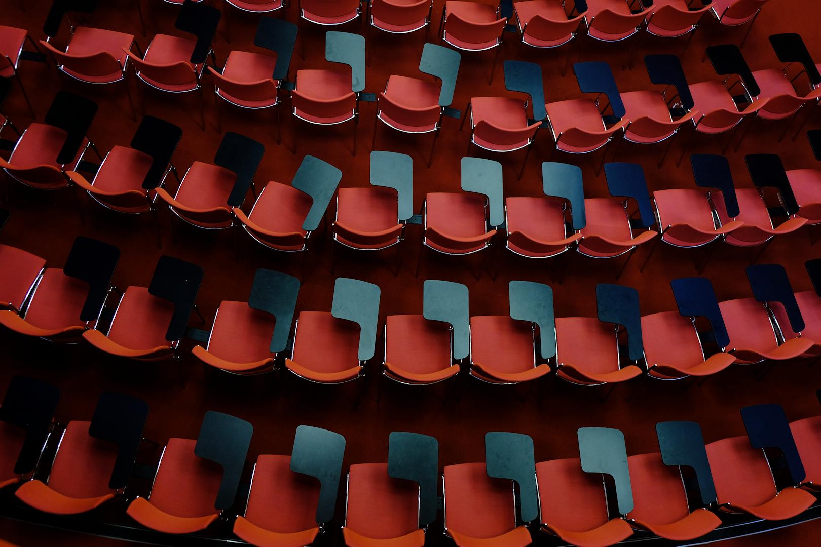 Sfondi Astratto Rosso Blu Cerchio Stadio Struttura Colore