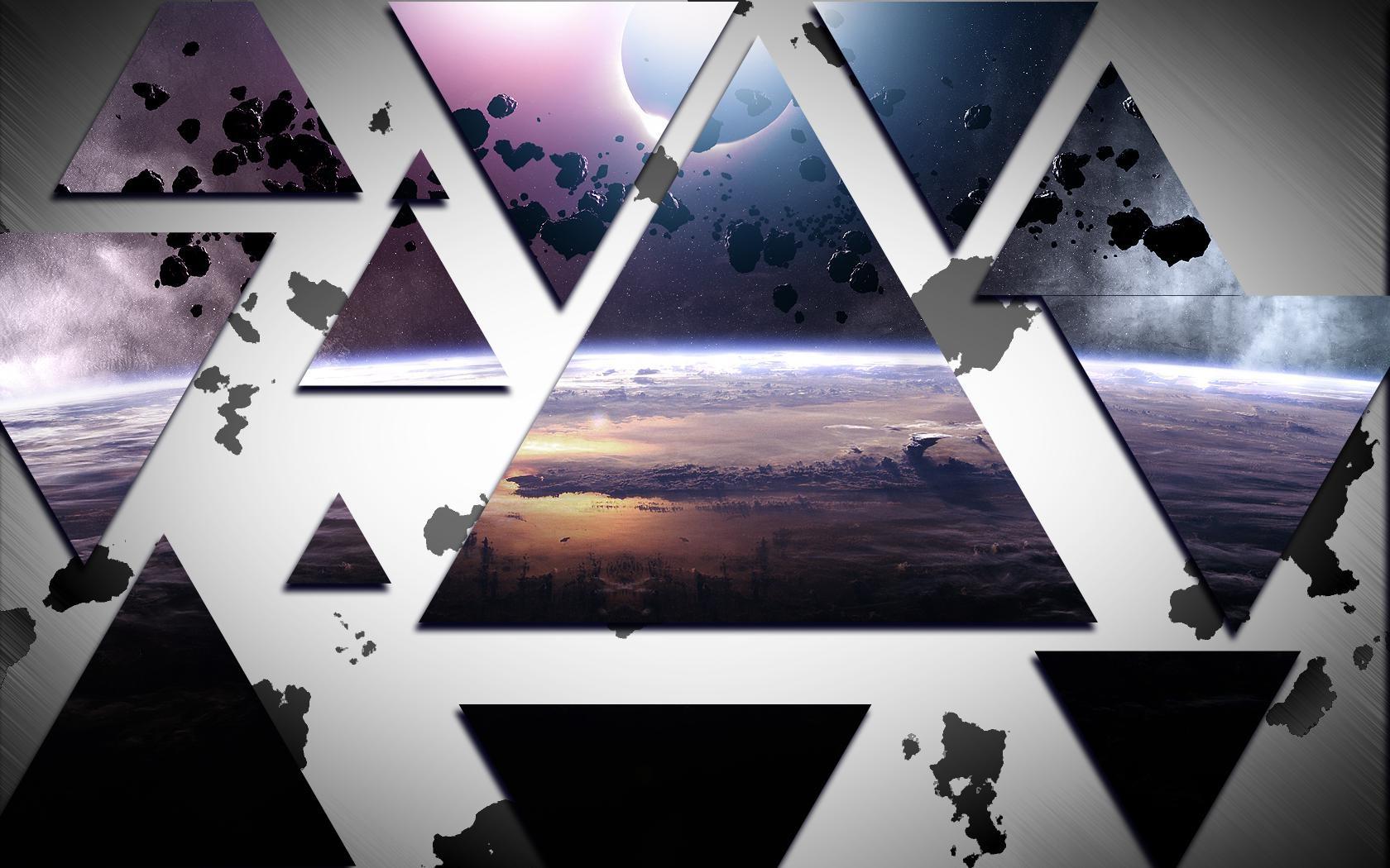 картинки с треугольниками и крестами мамины