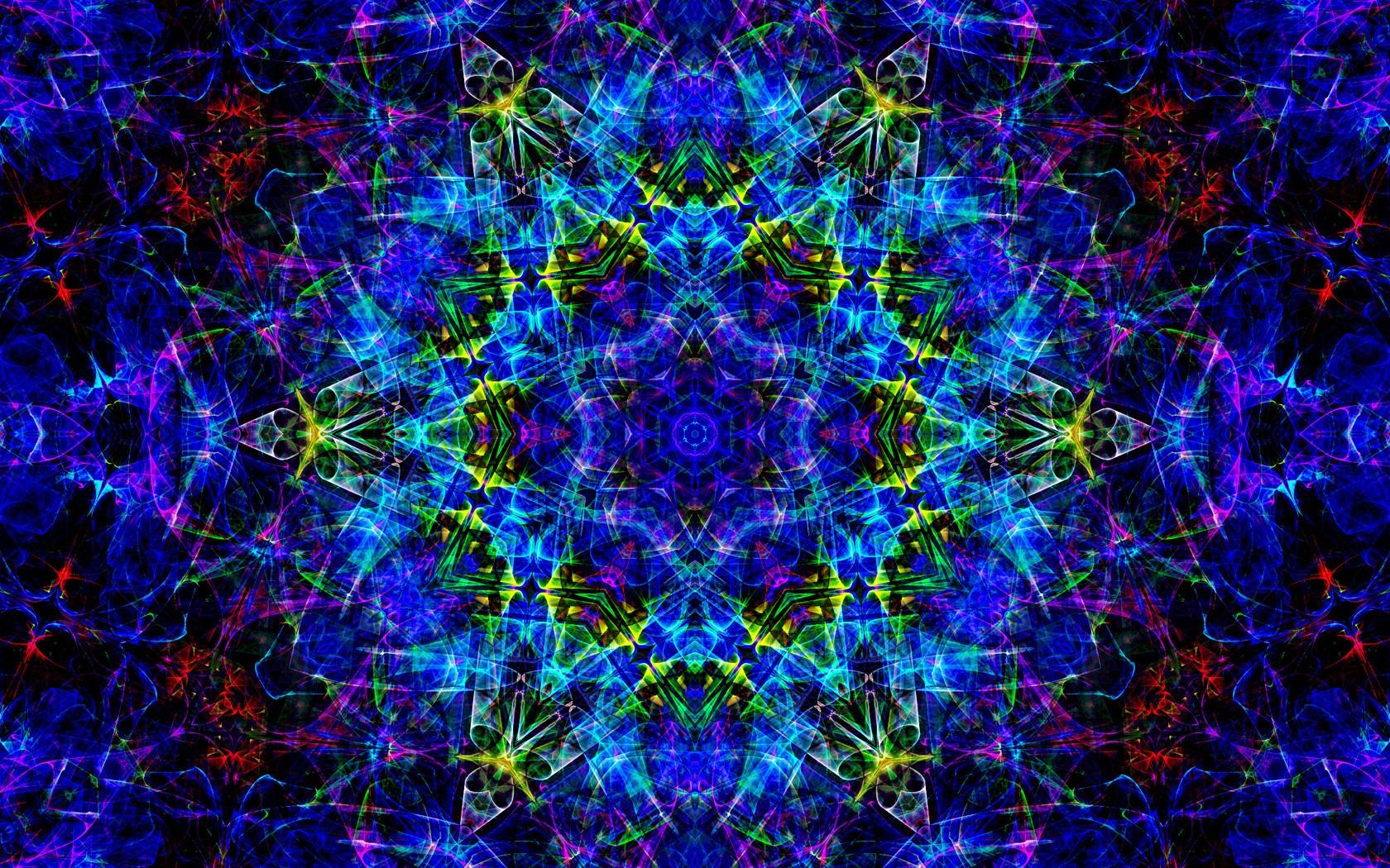 Wallpaper Abstract Symmetry Kaleidoscope Universe Fractal