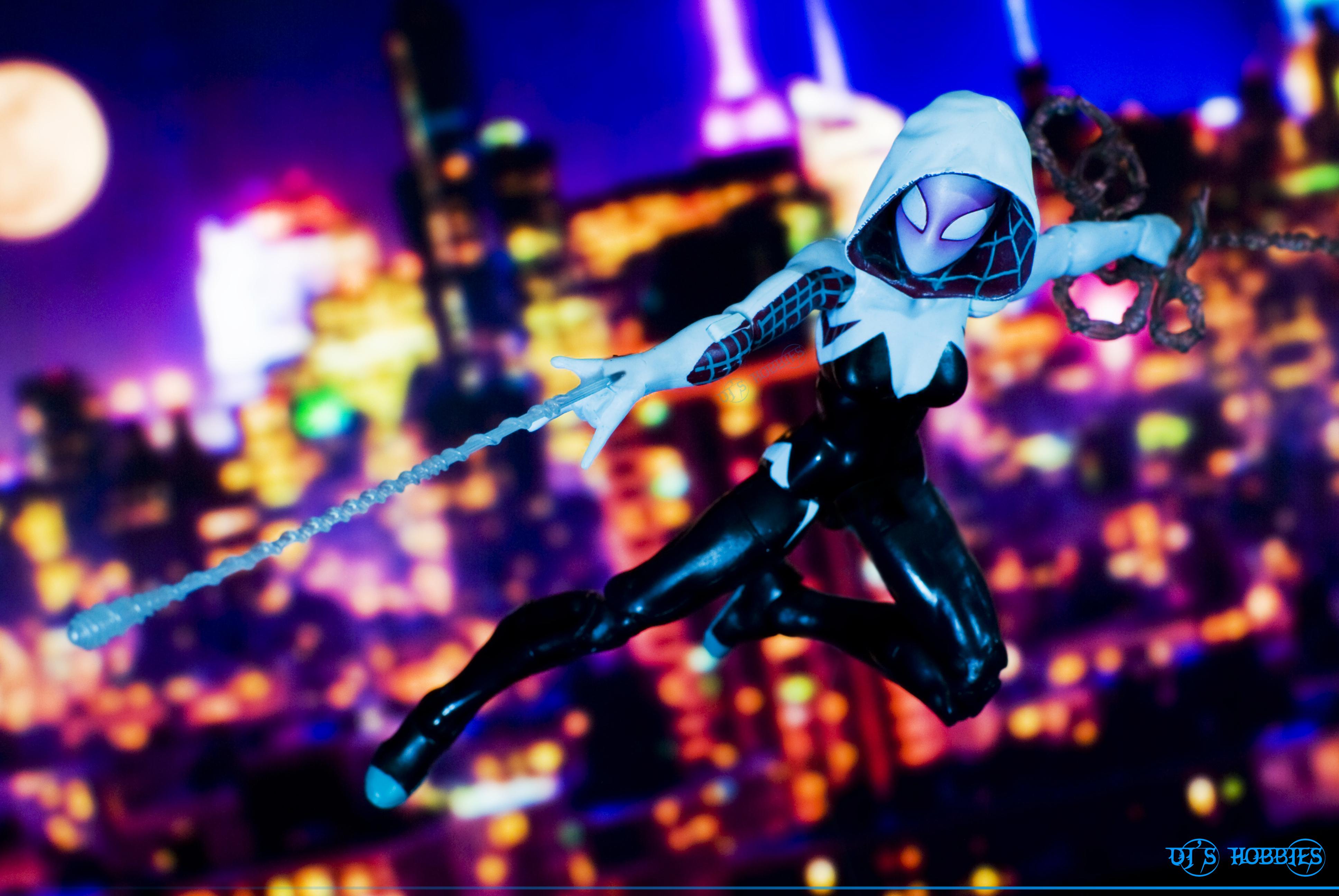 Actionfigure Spiderman Actionfigures Marvellegends Marvel Marvelcomics Hasbro Marveluniverse Spiderwoman Gwenstacy Acba Spidergwen Spidermanallies
