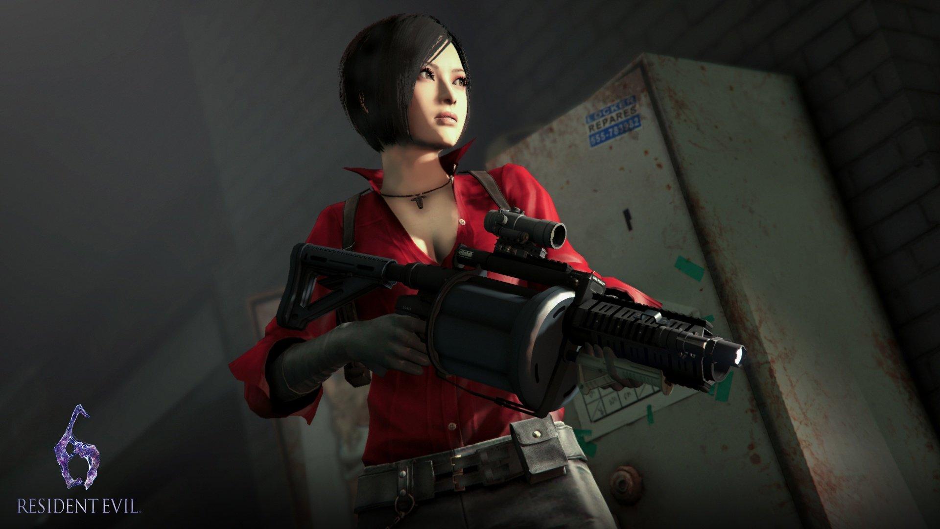 Wallpaper Ada Wong Resident Evil Resident Evil 2 Resident