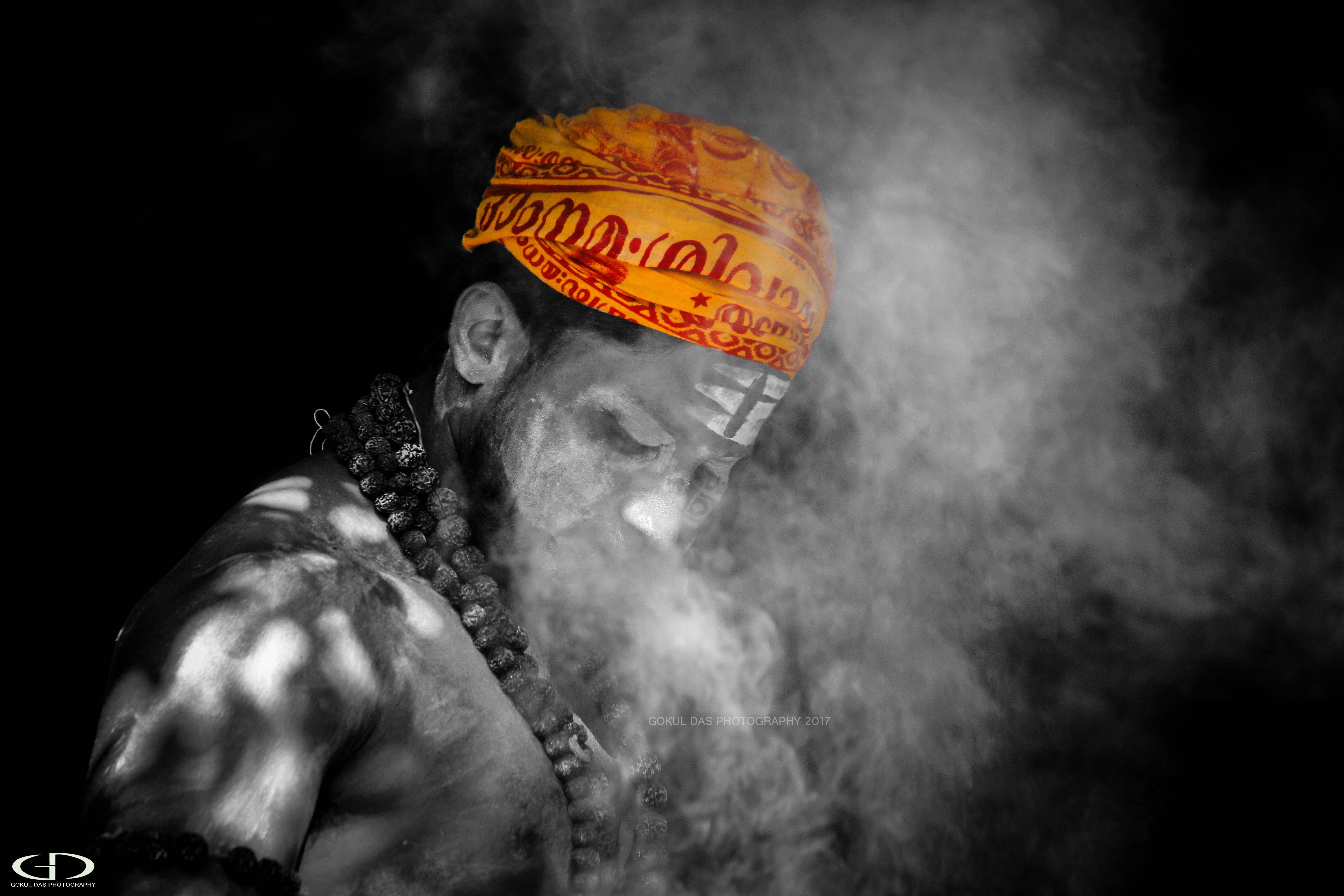 Aghori Indian Black Orange