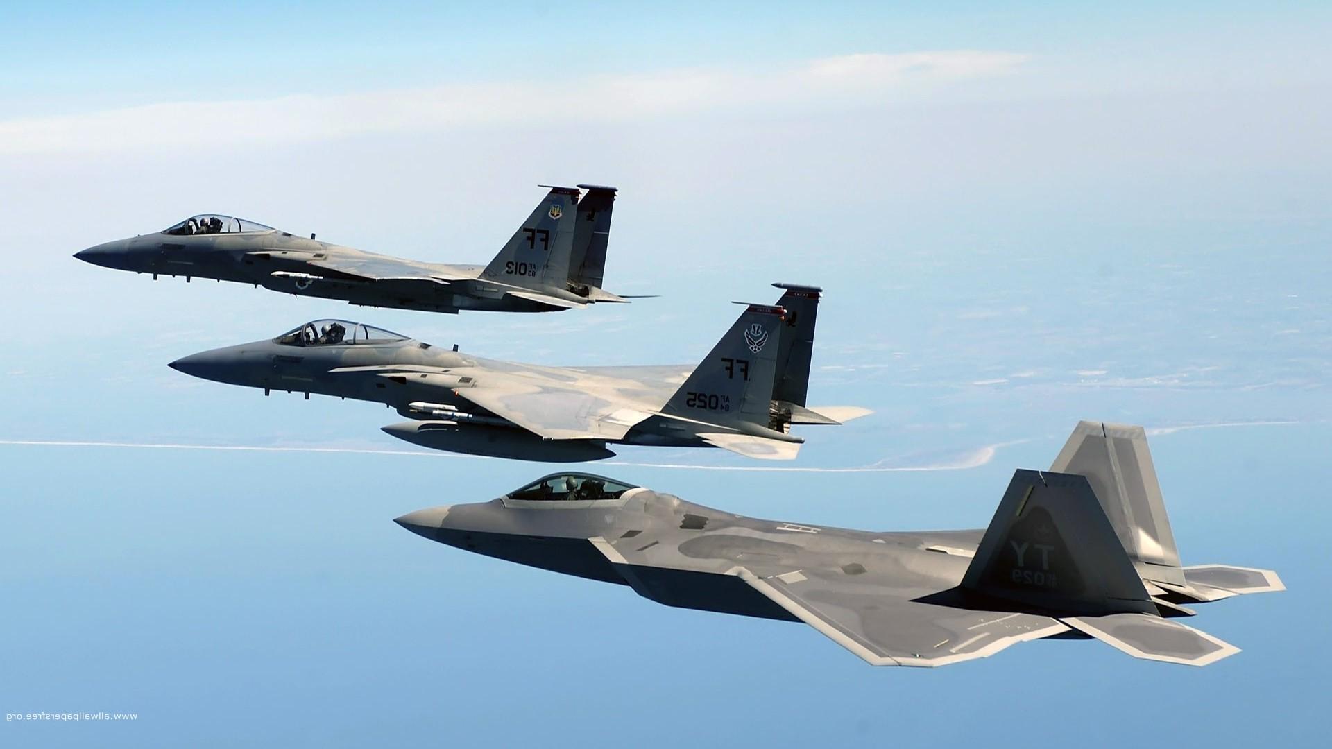 wallpaper : airplane, military aircraft, lockheed martin f 22 raptor