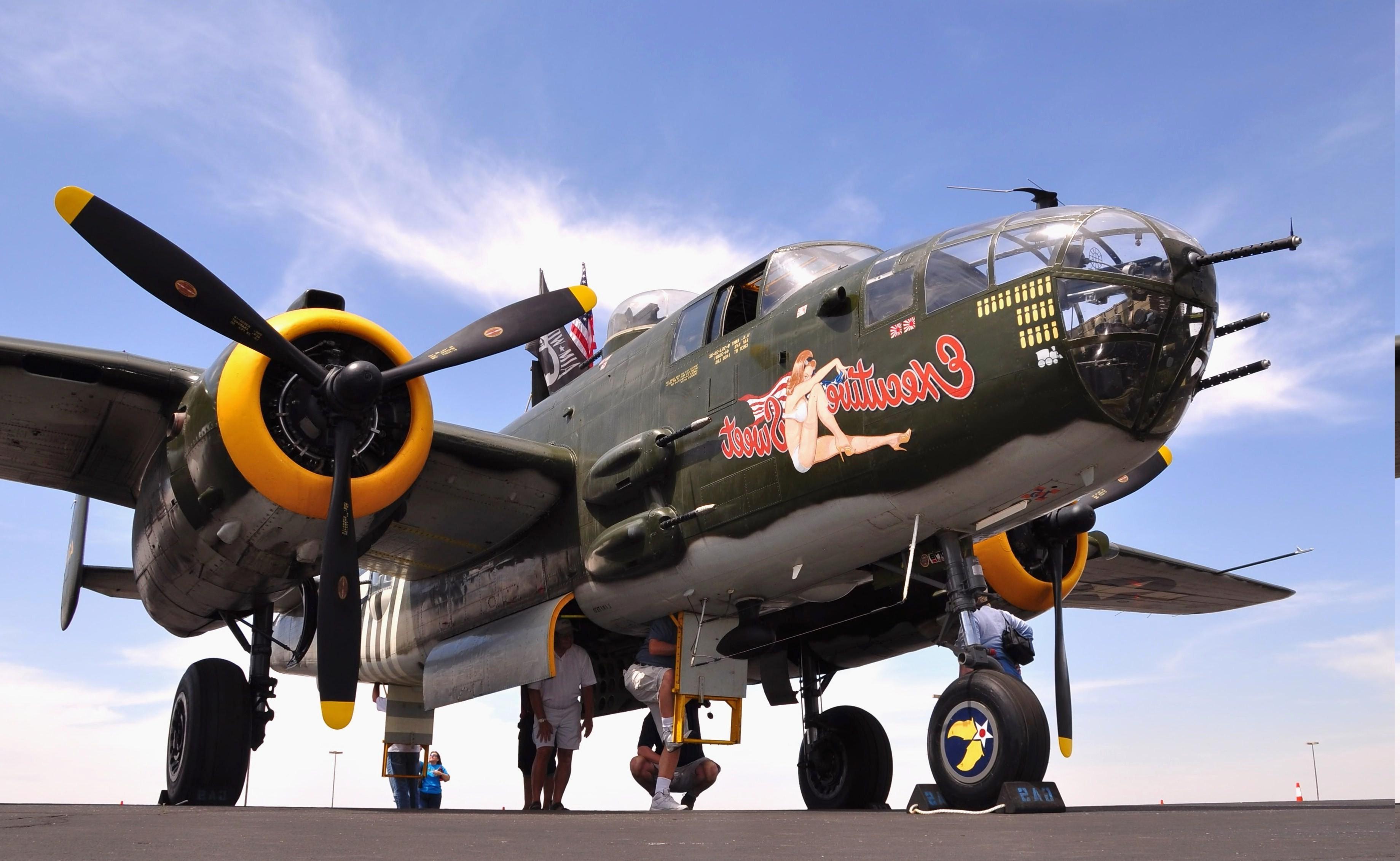 Wallpaper Airplane Military Aircraft World War Ii Boeing B 17
