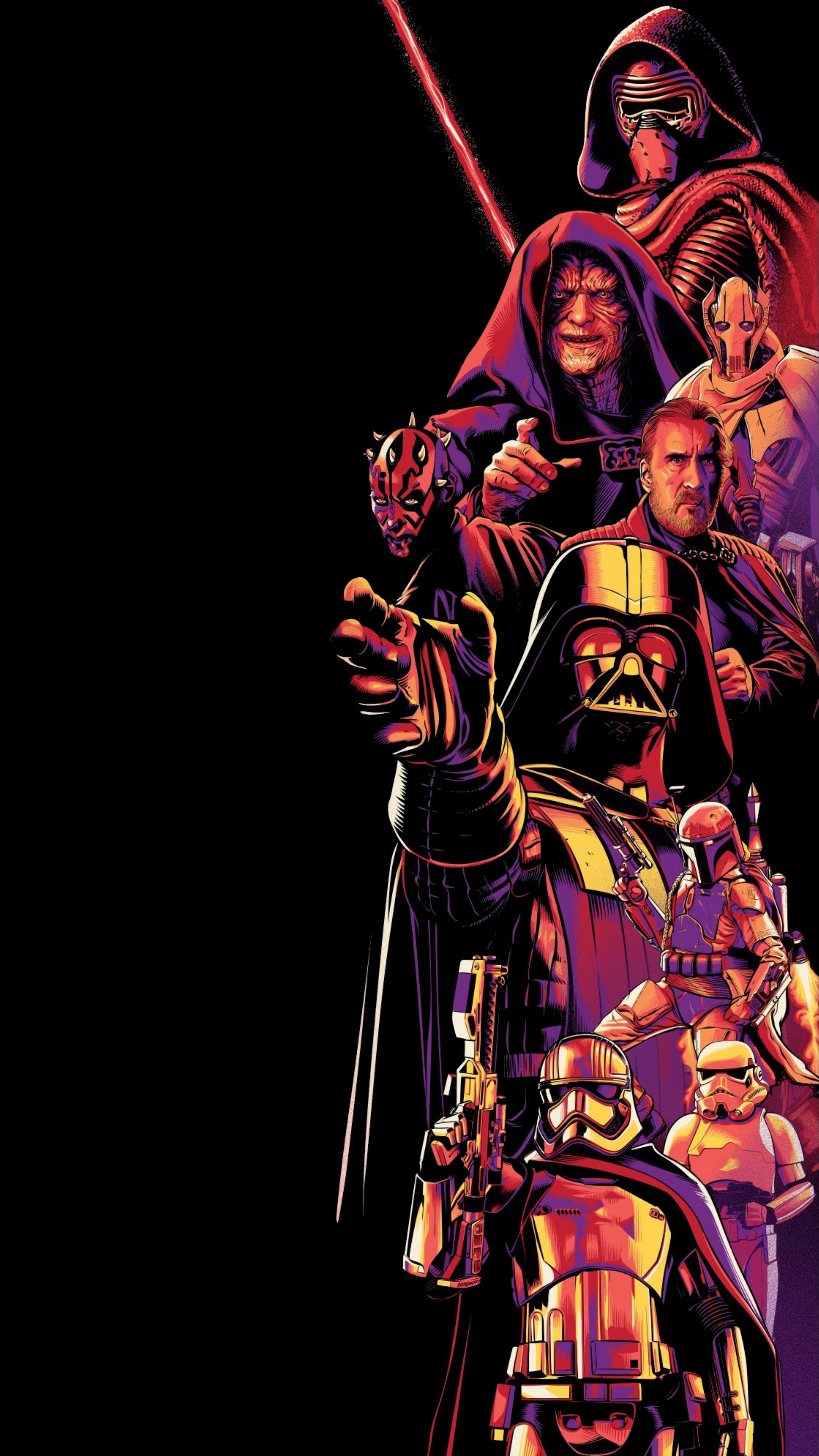 Wallpaper Amoled Dark Star Wars Vertical 2250x4000 Ranul 1744479 Hd Wallpapers Wallhere