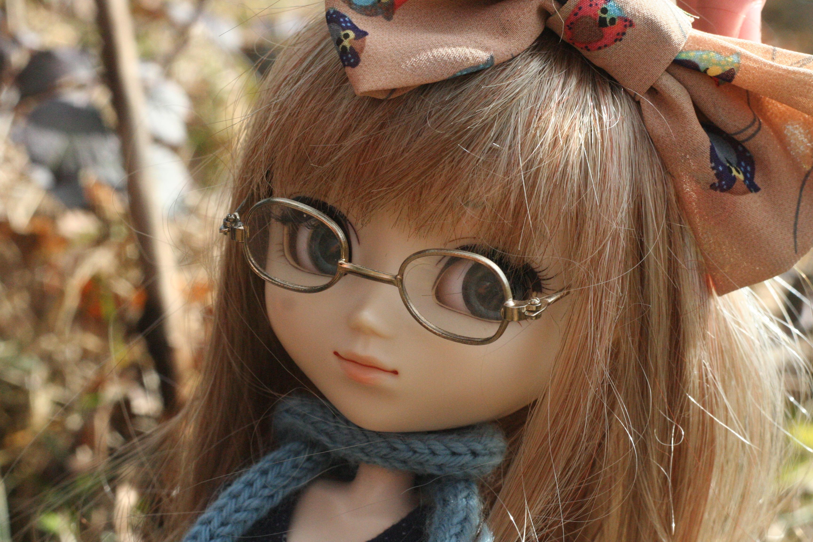 Wallpaper Animal Glasses Eyes Dress Blond Wig Owl Ribbon Pullip Neo Angelique Scraf 3456x2304 1092430 Hd Wallpapers Wallhere