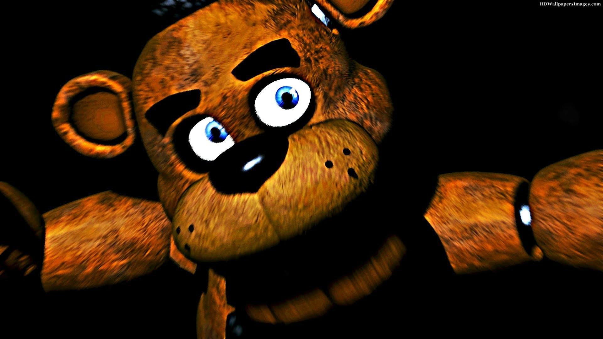 Wallpaper Animals Video Games Stuffed Animal Five Nights At