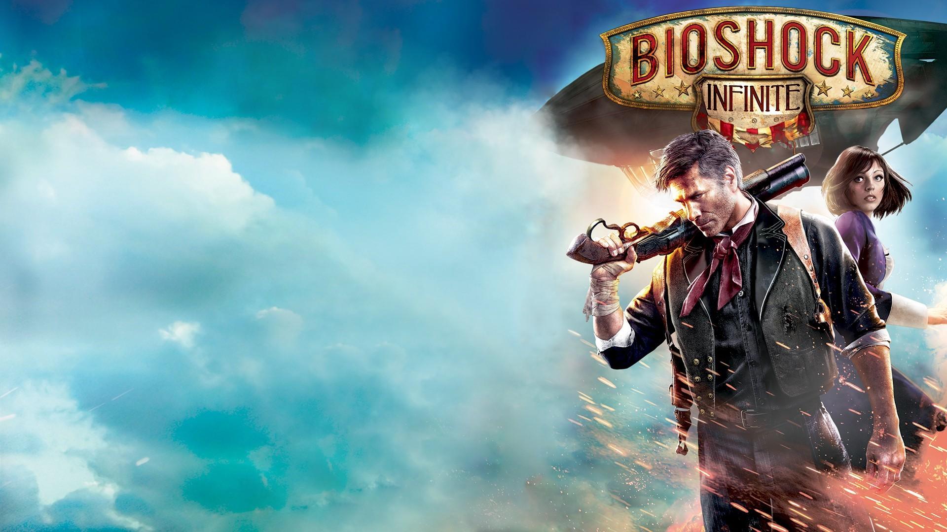 anime BioShock Elizabeth BioShock BioShock Infinite Booker DeWitt screenshot computer wallpaper 88741
