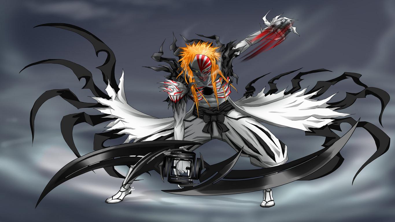 Anime Bleach Kurosaki Ichigo Hollow