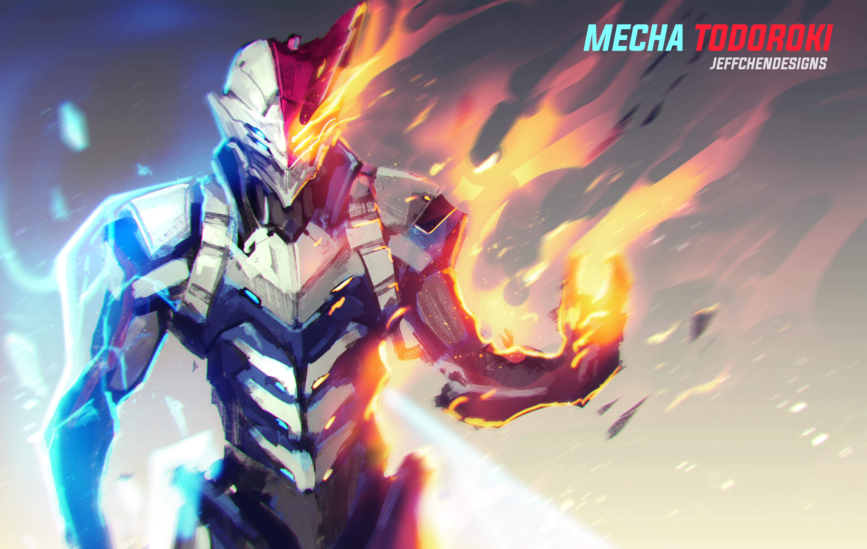 Wallpaper Anime Boku No Hero Academia Boku No Hero Futuristic