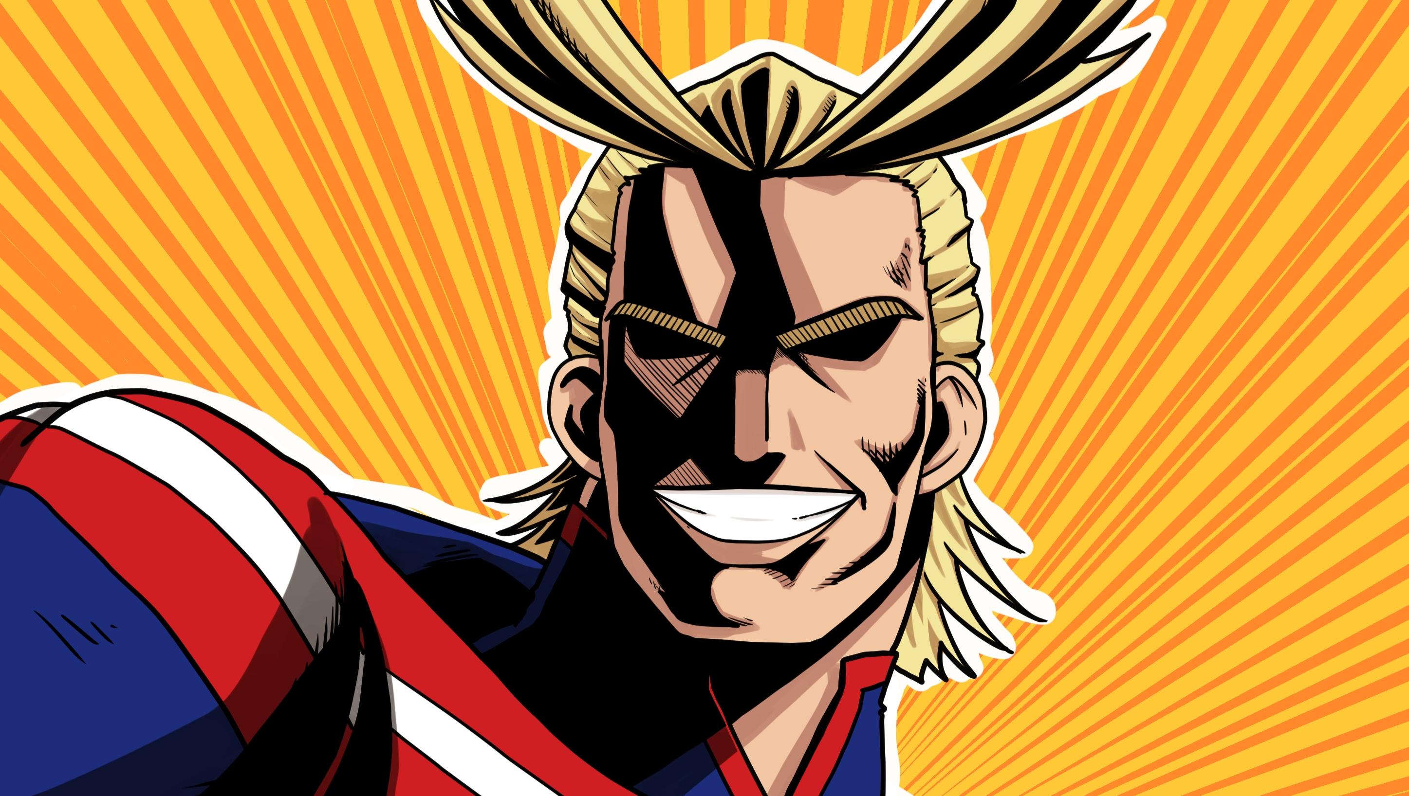 Wallpaper Anime Boku No Hero Boku No Hero Academia All Might