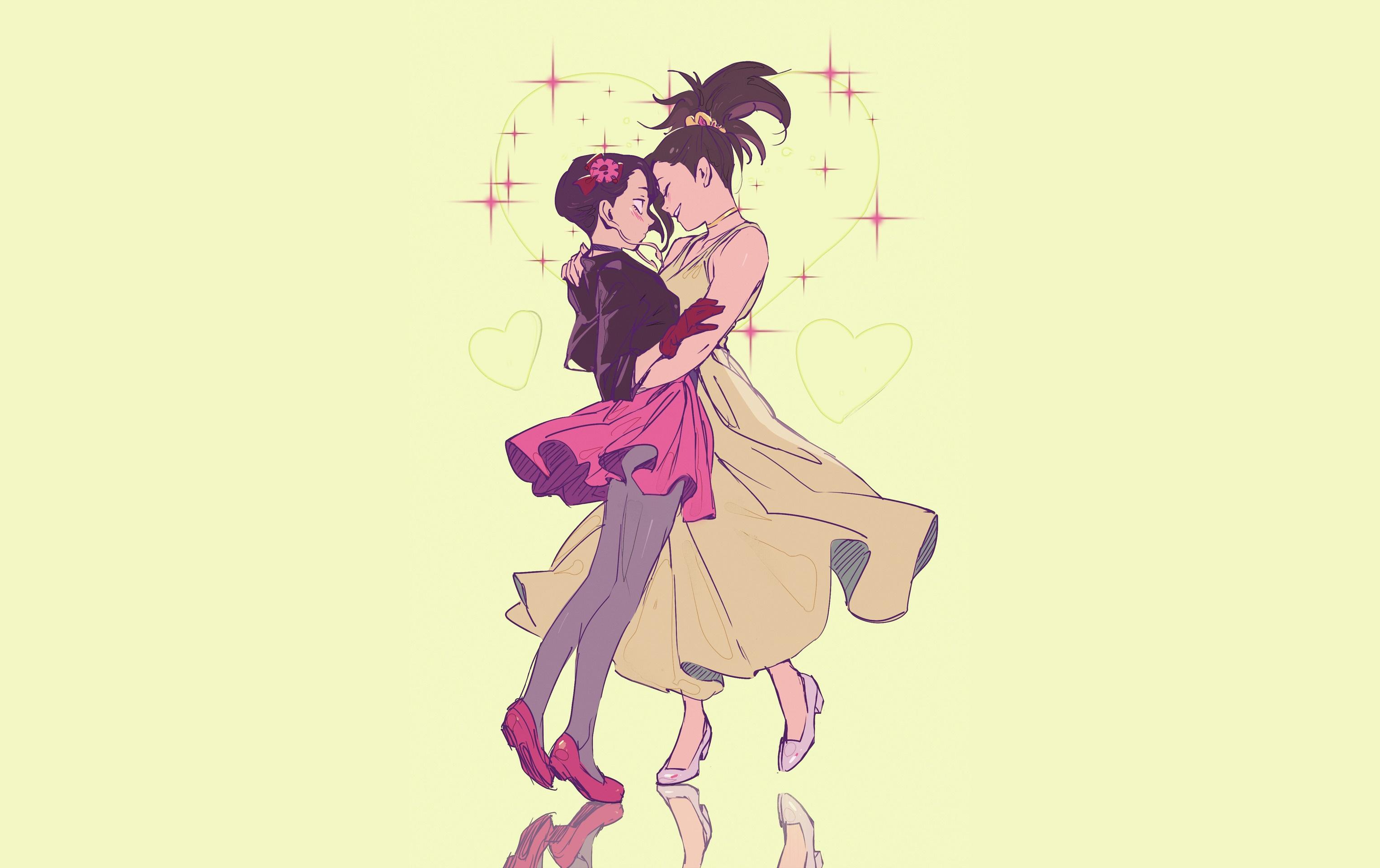 Wallpaper Boku No Hero Boku No Hero Academia Anime Girls