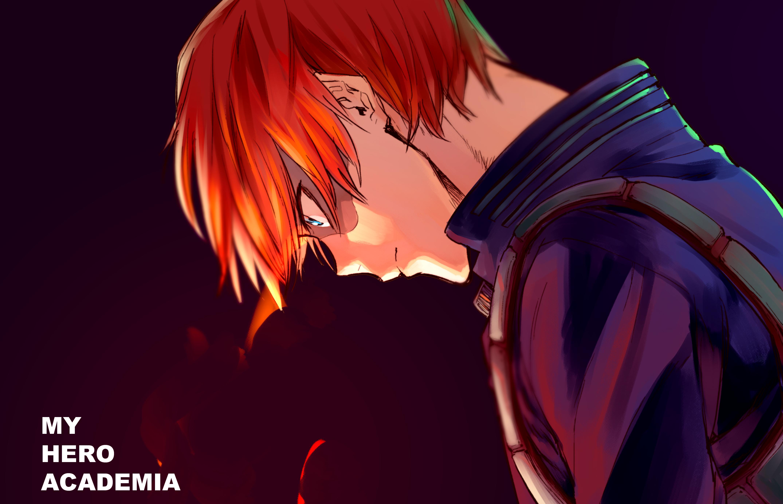 Wallpaper Anime Boku No Hero Boku No Hero Academia Todoroki