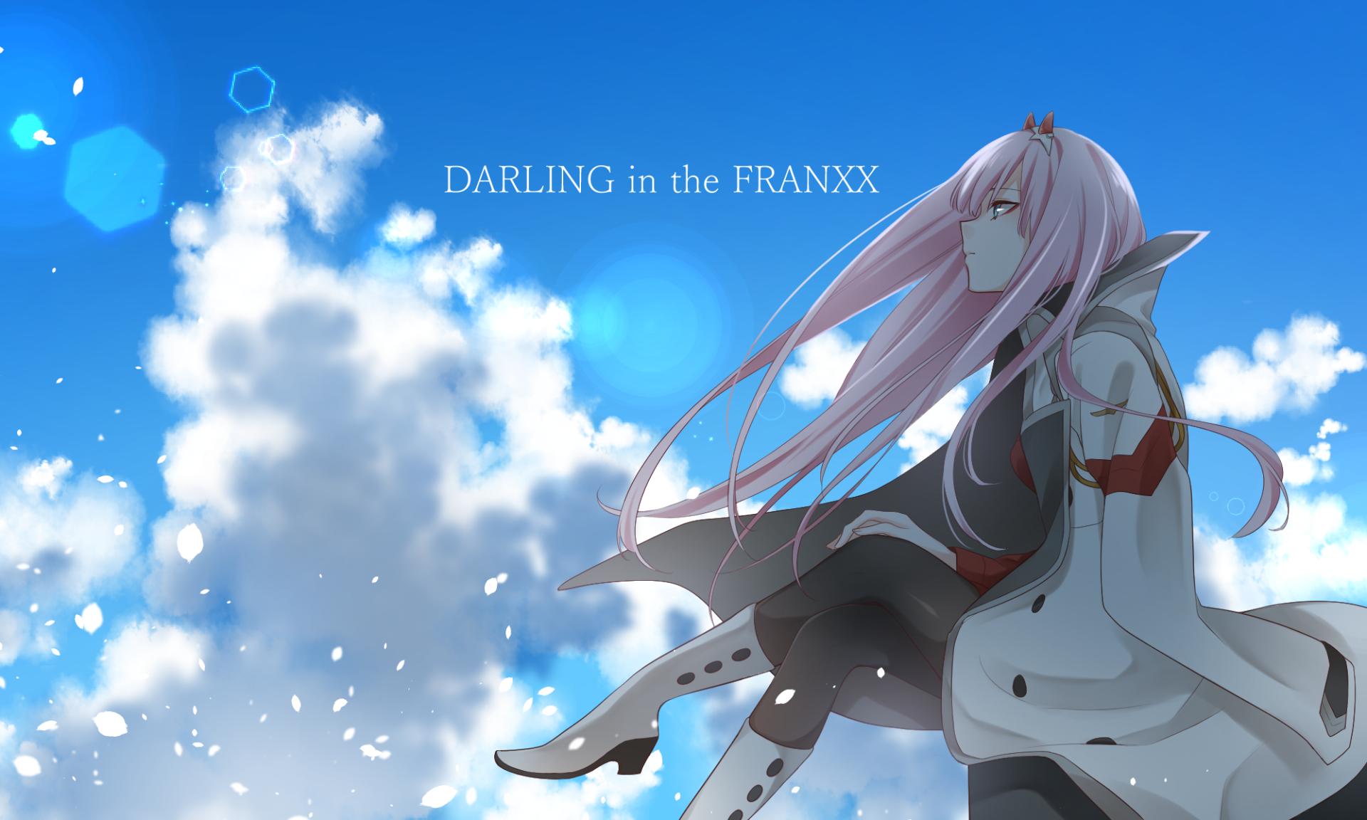Wallpaper : Anime, Darling In The FranXX, Zero Two