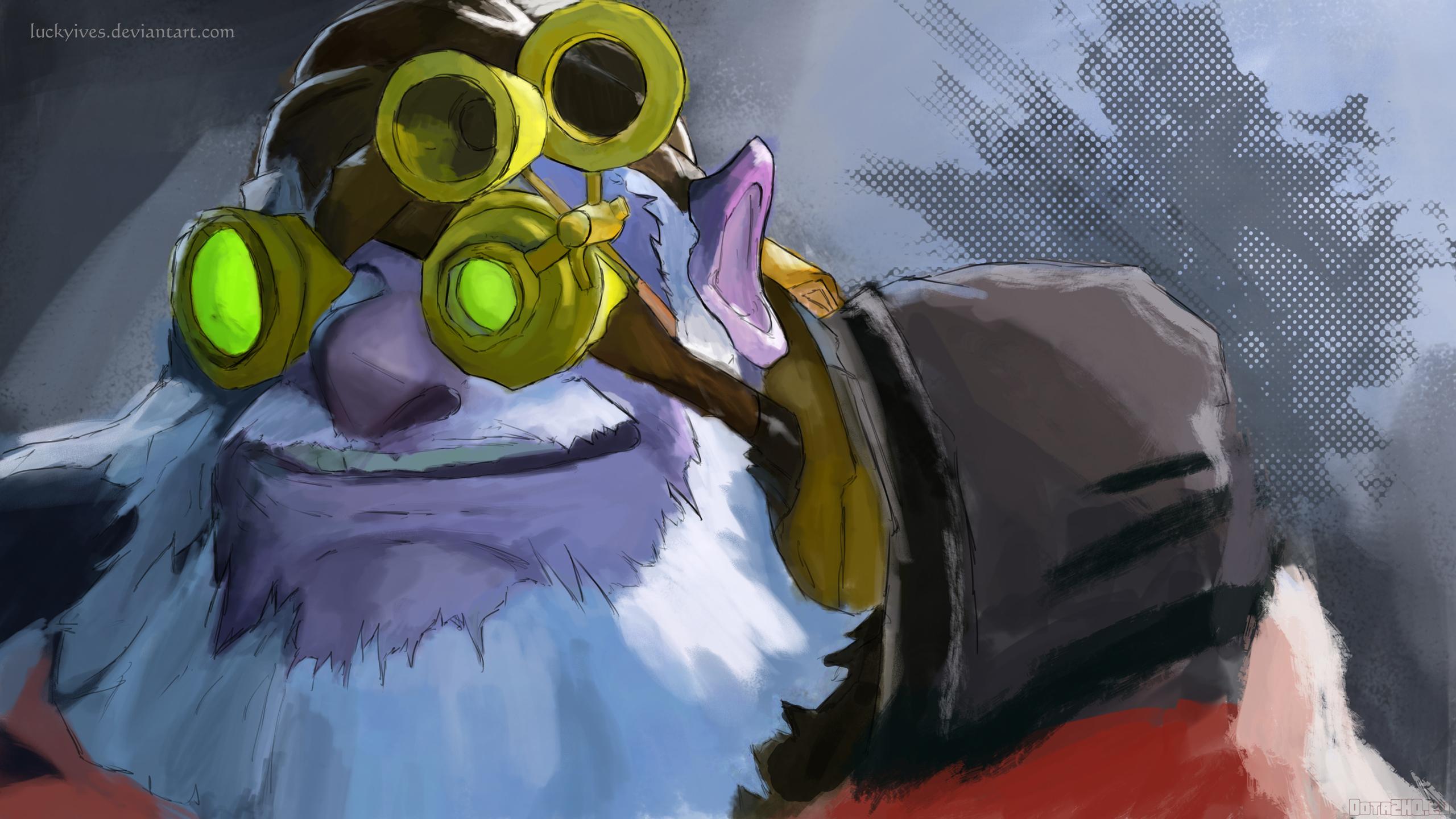 Wallpaper Anime Dota 2 Art Color Screenshot Sniper Kardel