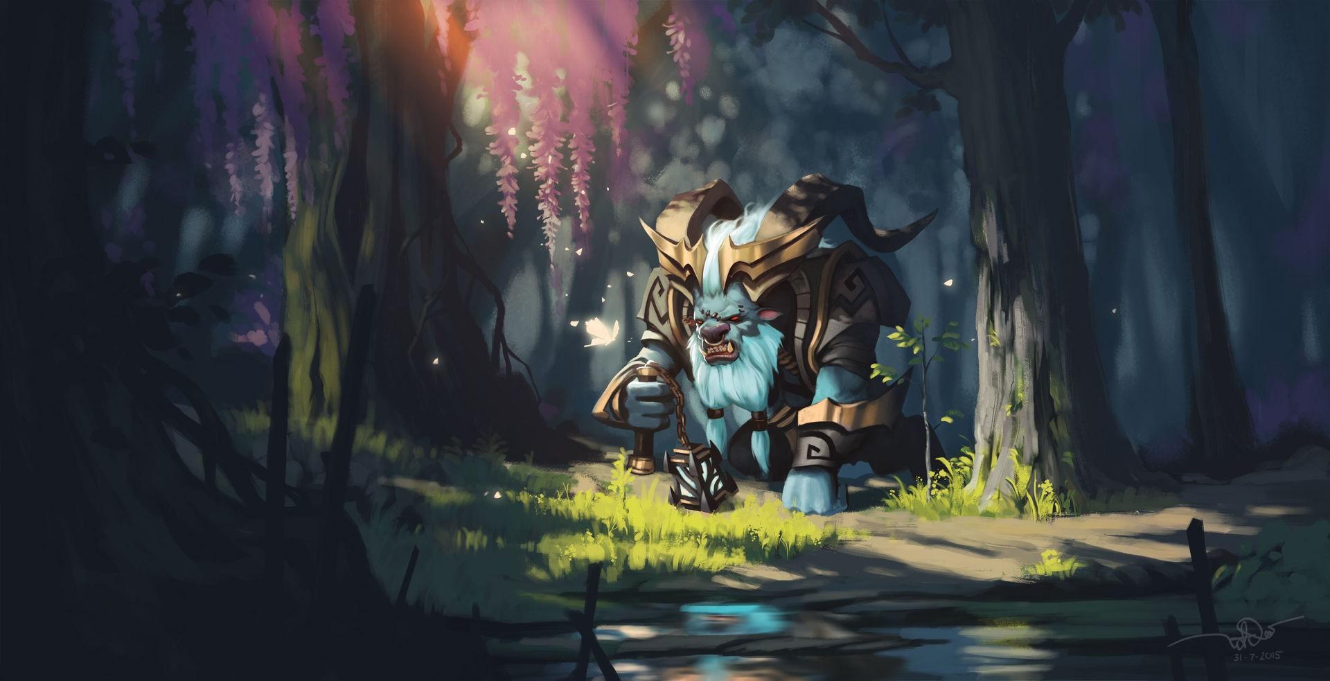 Wallpaper Anime Dota 2 Defense Of The Ancients Valve