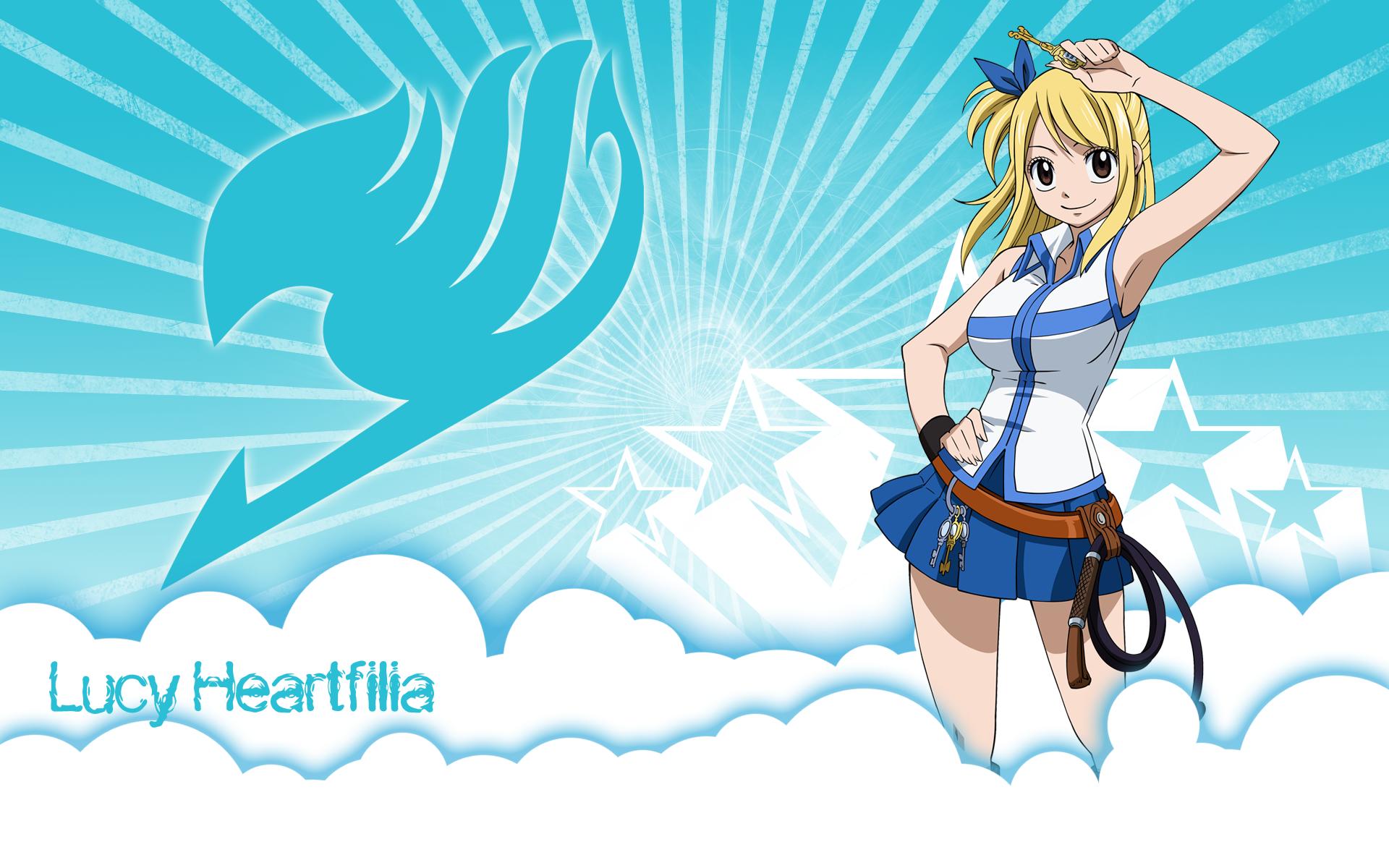Wallpaper Anime Fairy Tail Heartfilia Lucy 1920x1200