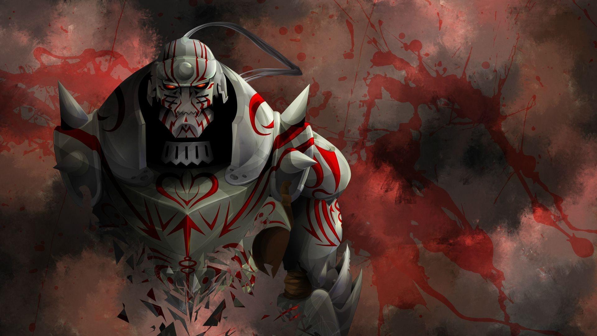 Wallpaper Anime Full Metal Alchemist Brotherhood Elric Alphonse