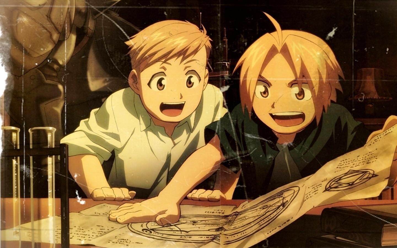 Wallpaper Anime Fullmetal Alchemist Brotherhood Elric Edward