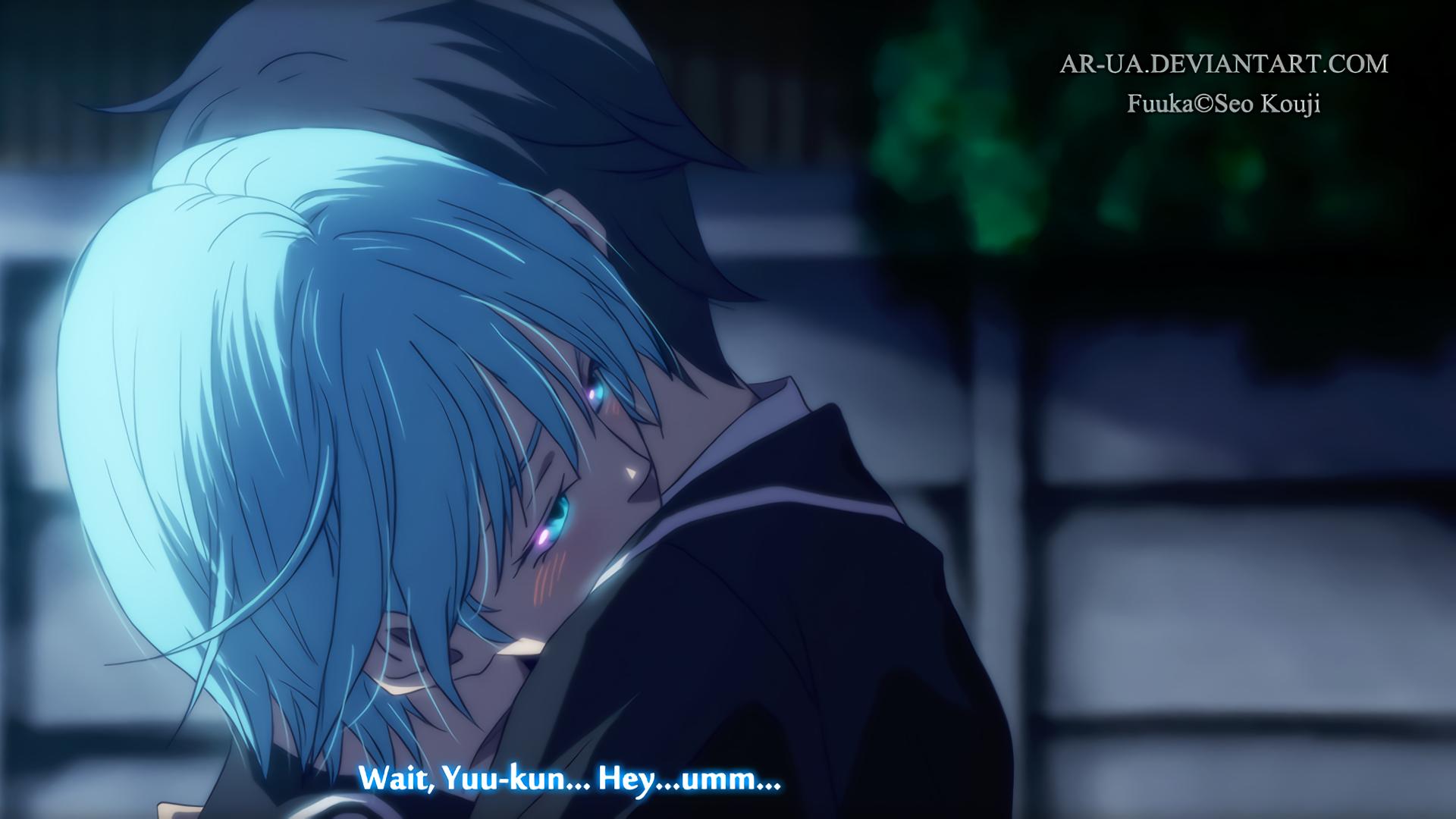 Anime Fuuka Akitsuki Bildschirmfoto Computer Tapete