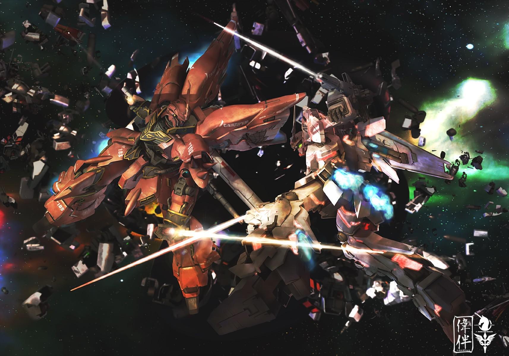 Wallpaper Anime Mobile Suit Gundam Unicorn Mobile Suit Screenshot Concert 1714x1200 Wwwyzzerdd 246530 Hd Wallpapers Wallhere